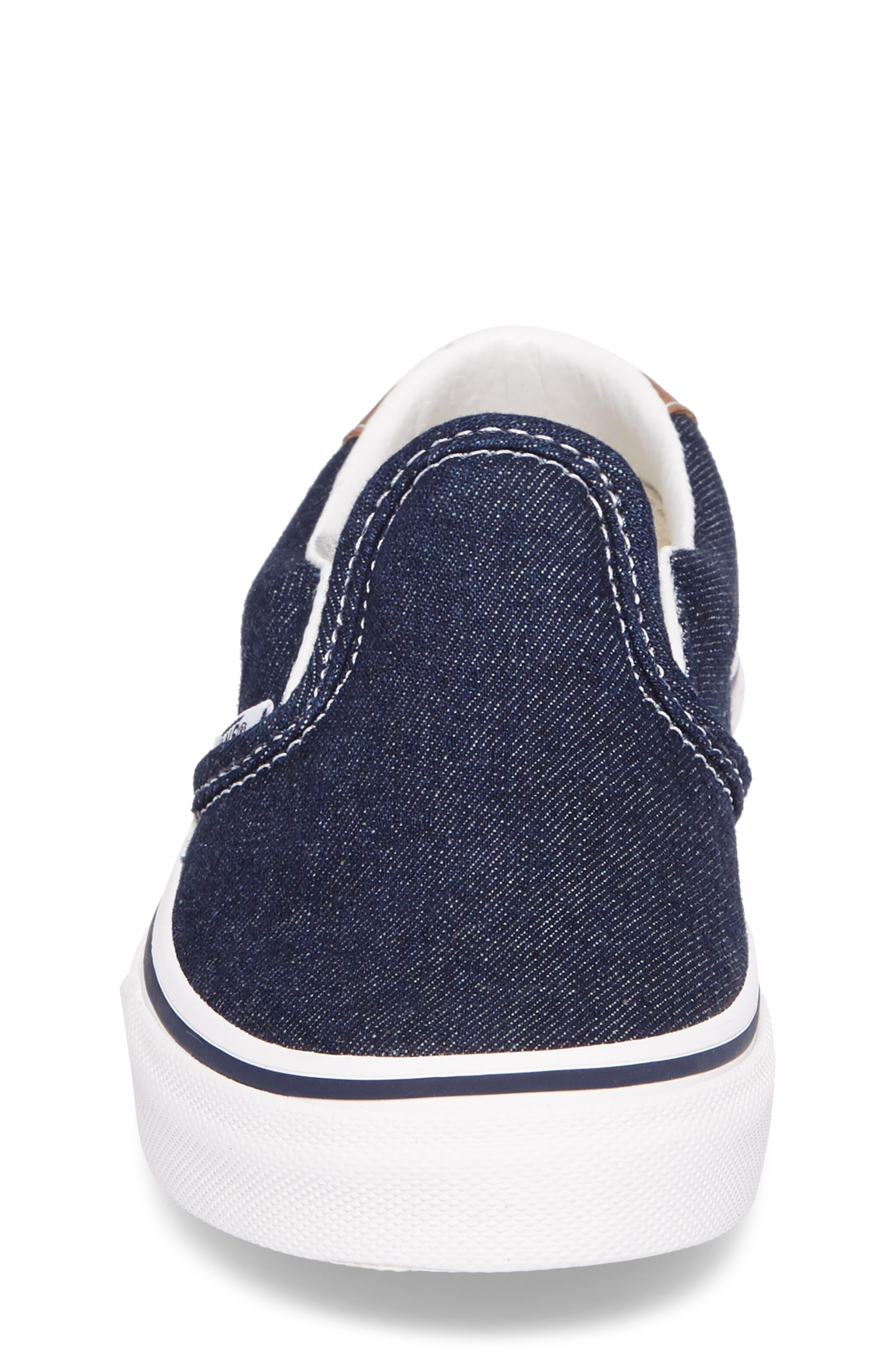 Denim C&L Slip-On 59 Sneaker,                             Alternate thumbnail 4, color,                             420