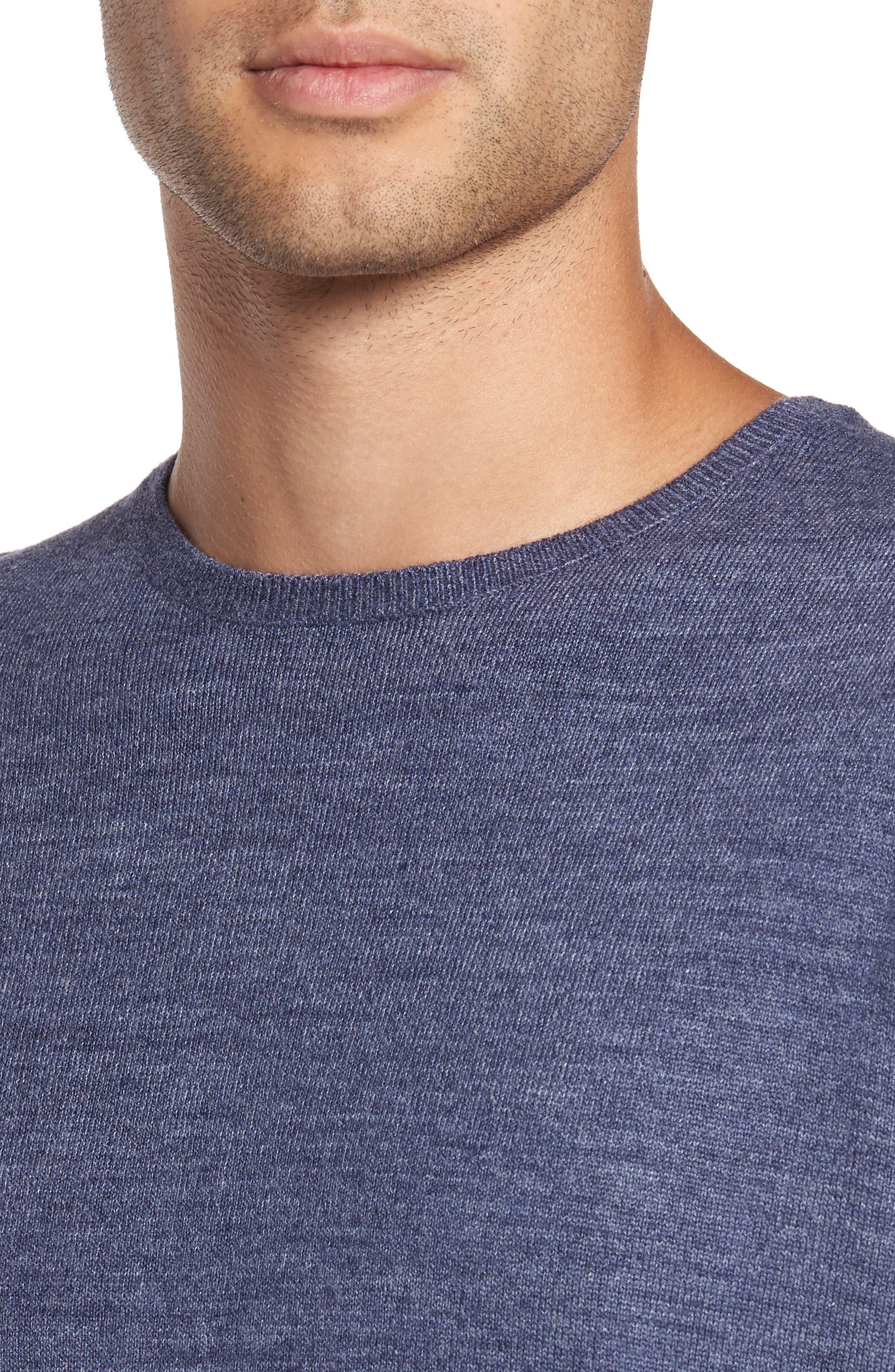 Merino Blend Crewneck Sweater,                             Alternate thumbnail 16, color,