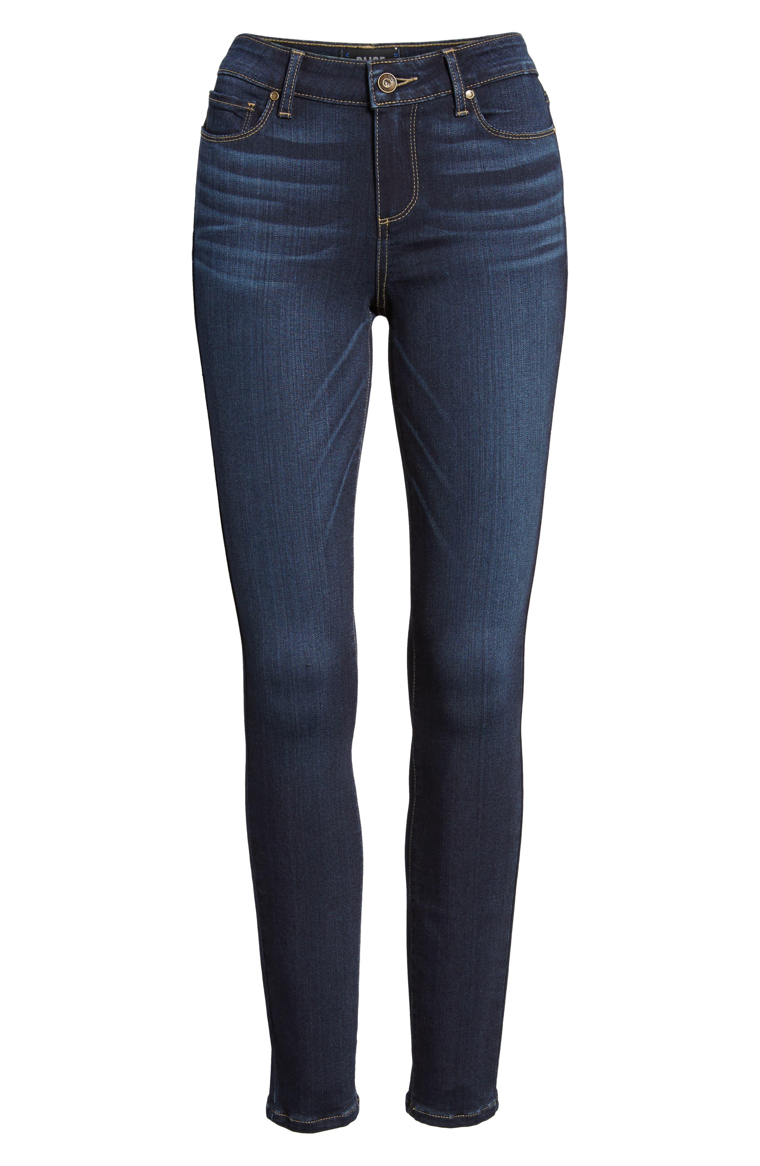 Transcend - Verdugo Ultra Skinny Jeans,                             Alternate thumbnail 7, color,                             400
