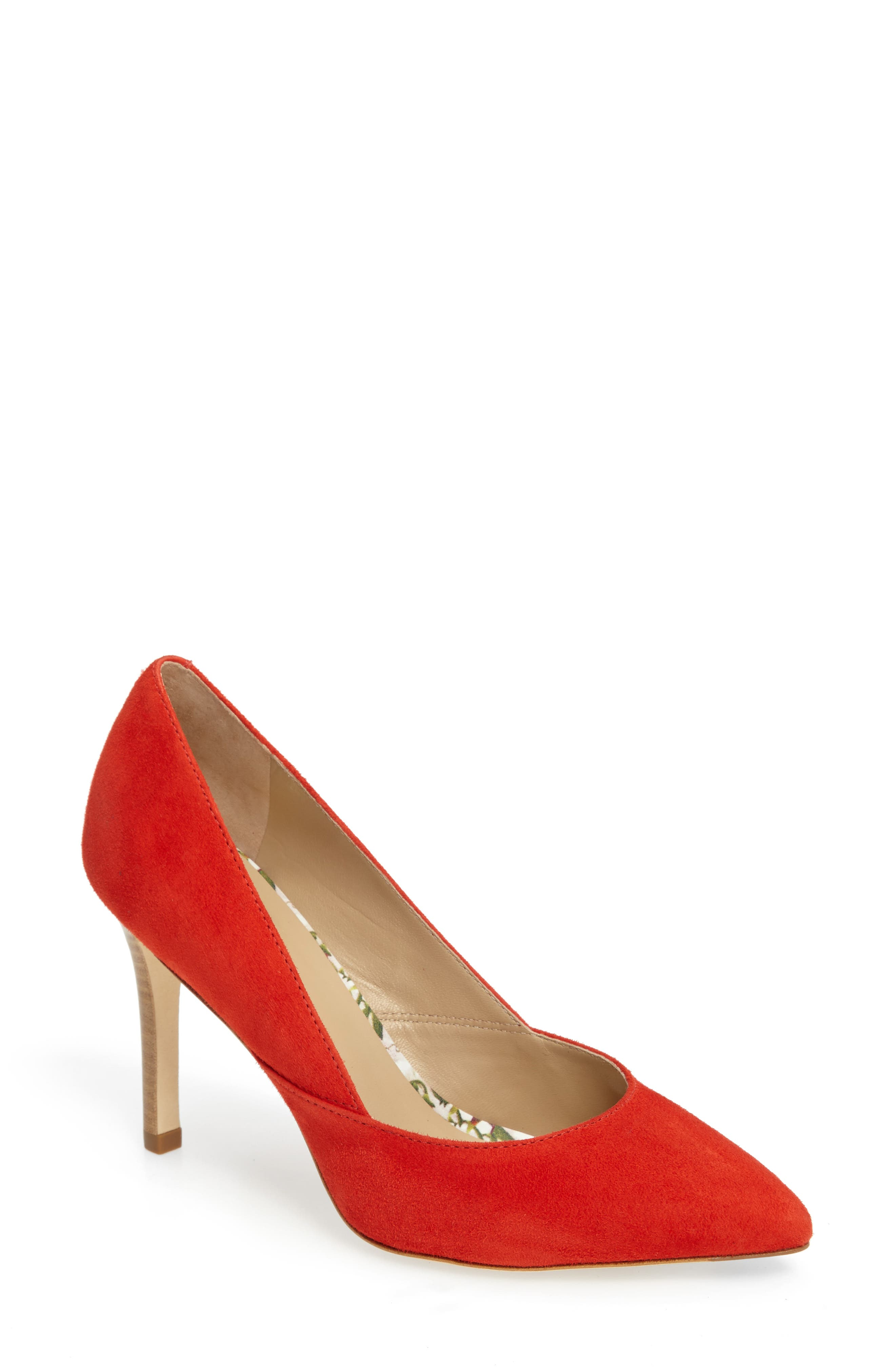 'Vanessa' Pointy Toe Leather Pump,                             Main thumbnail 8, color,