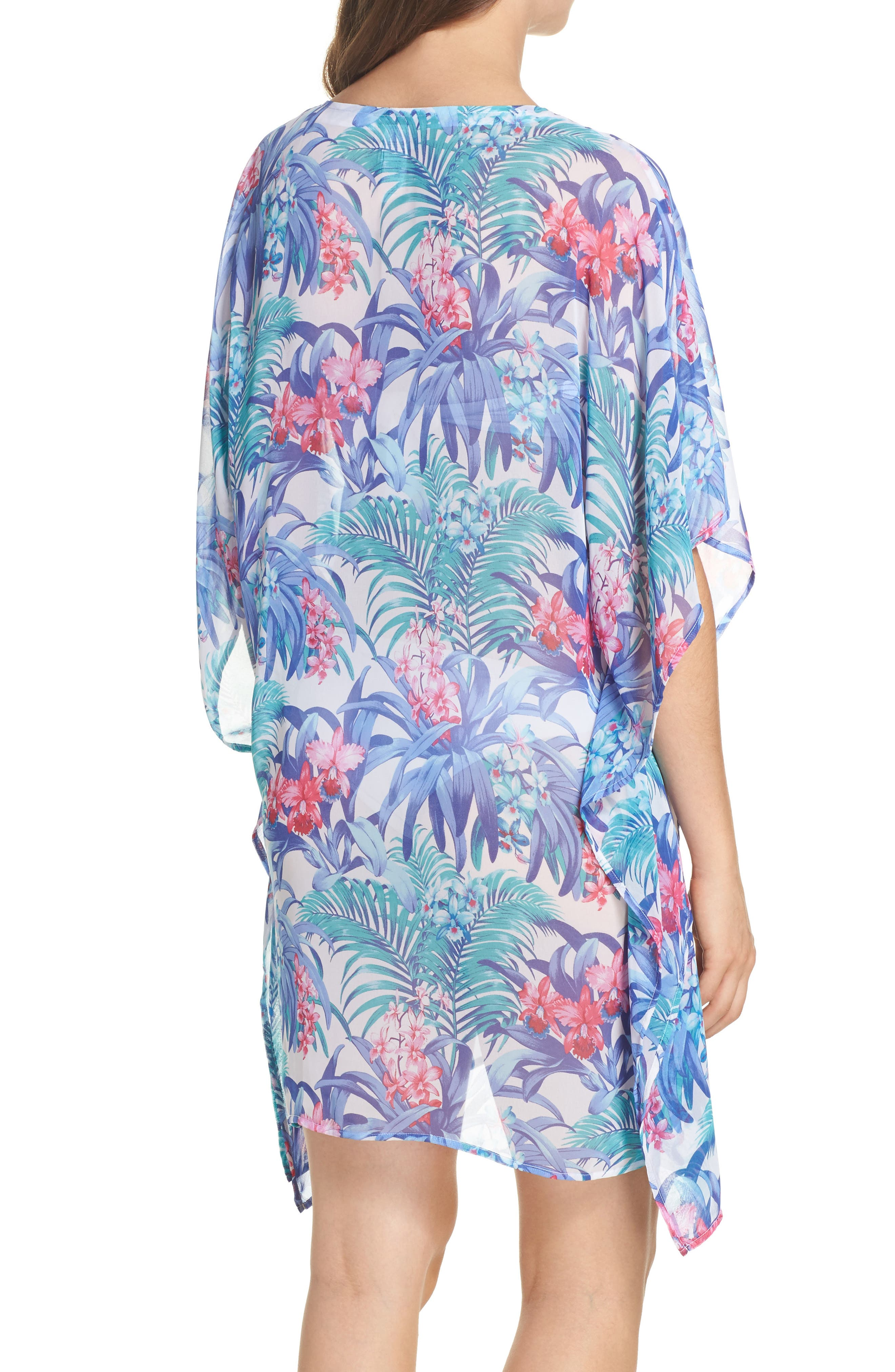 Majorelle Cover-Up Tunic,                             Alternate thumbnail 2, color,                             100