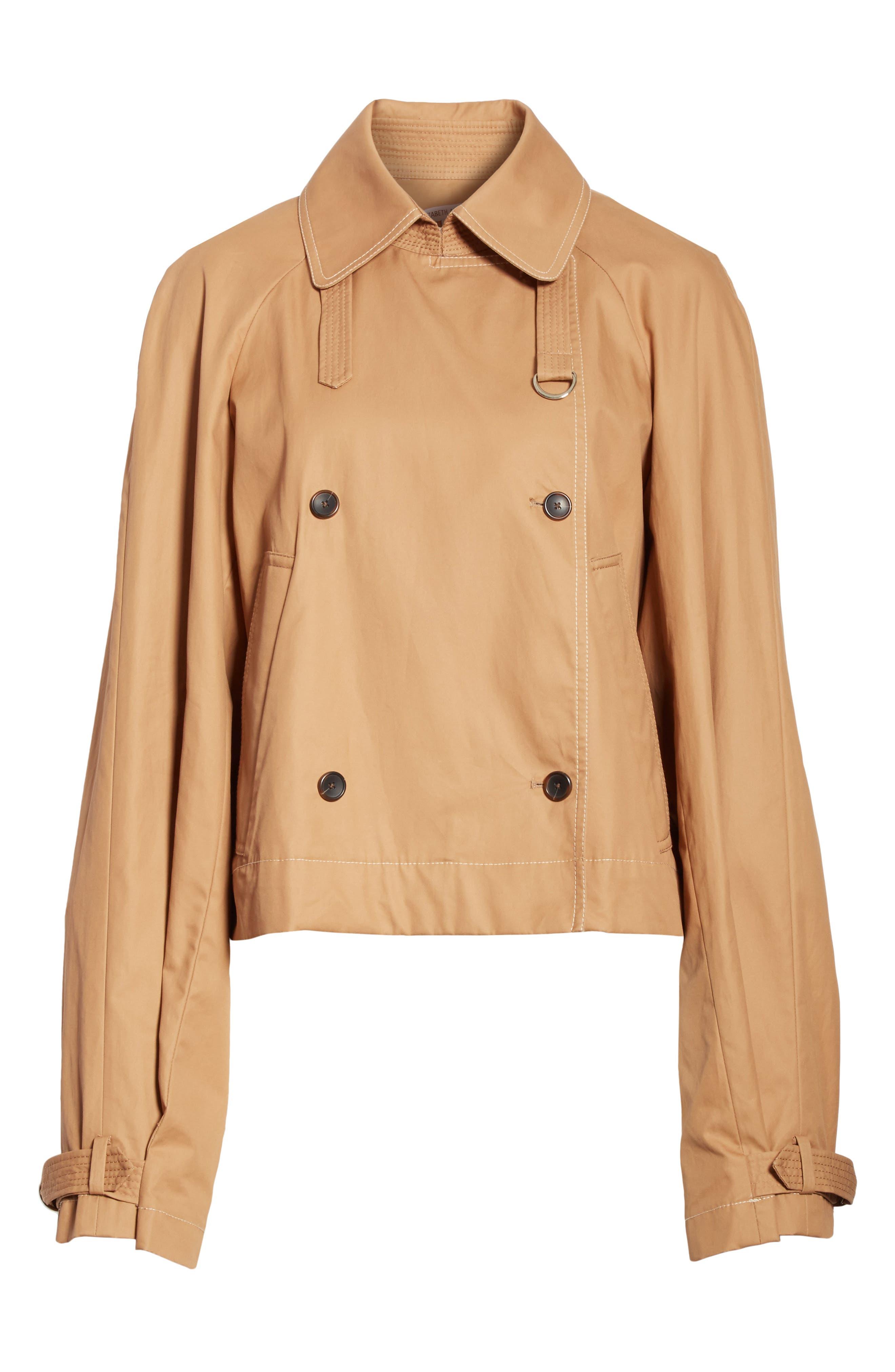 Eleta Short Trench Coat,                             Alternate thumbnail 5, color,                             206