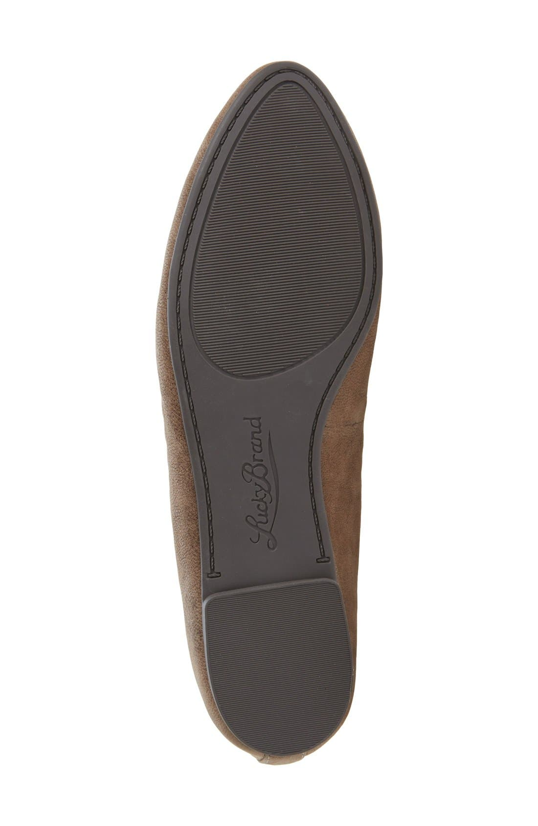 'Aviee' Lace-Up Flat,                             Alternate thumbnail 33, color,