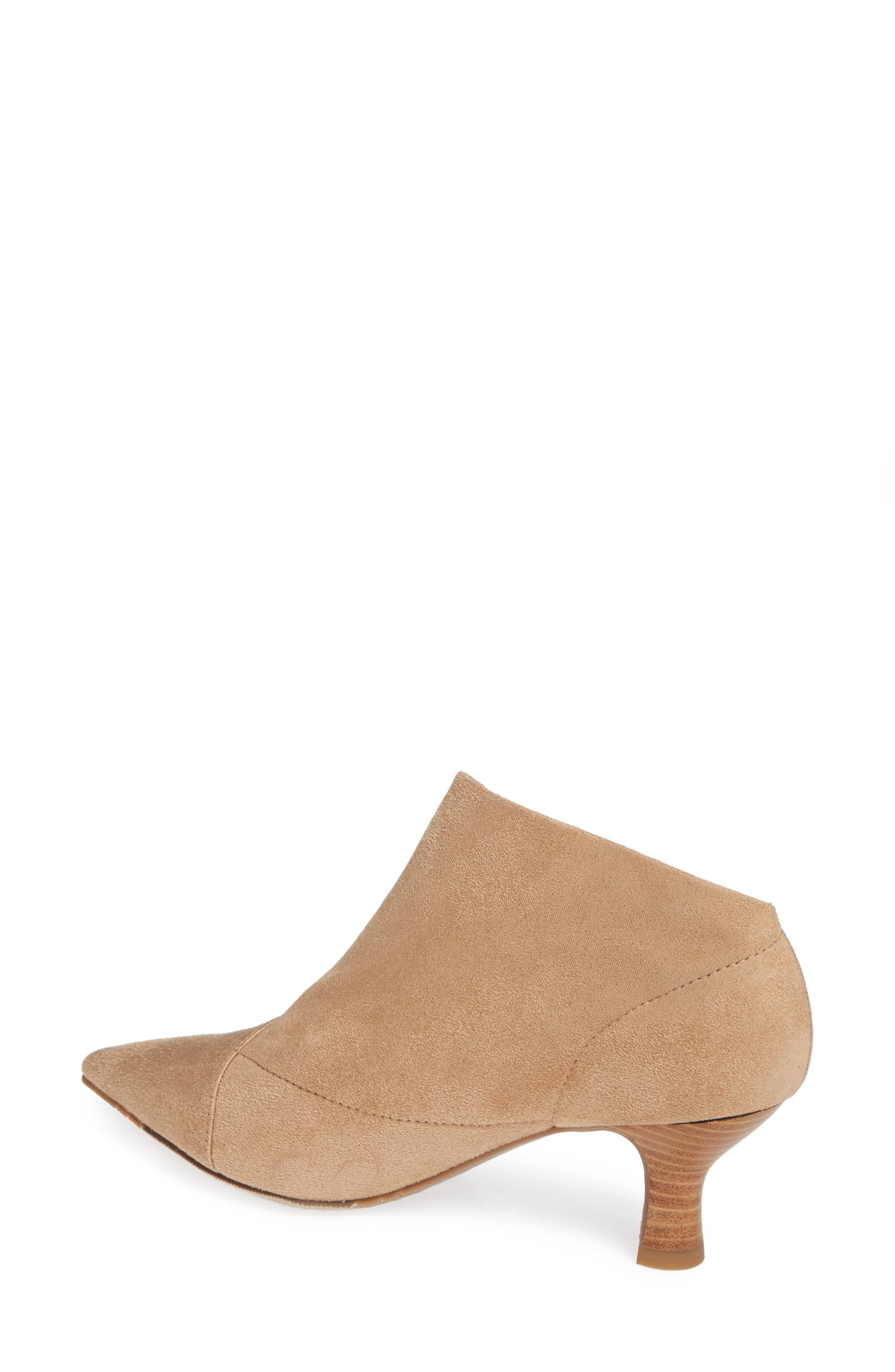 Hayes Pointy Toe Bootie,                             Alternate thumbnail 2, color,                             OAT SUEDE