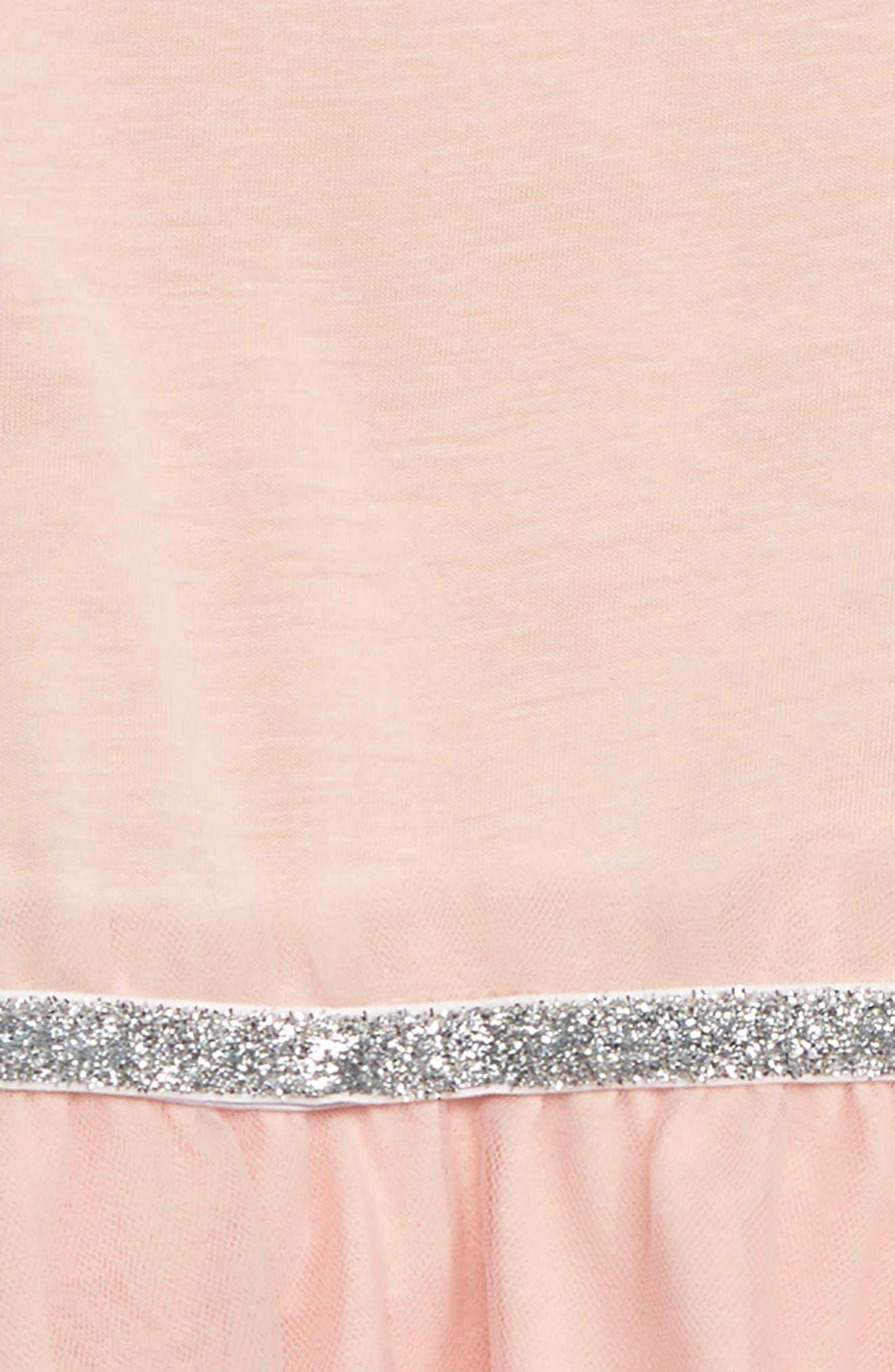Tulle Skirt Romper,                             Alternate thumbnail 2, color,                             POWDER PINK