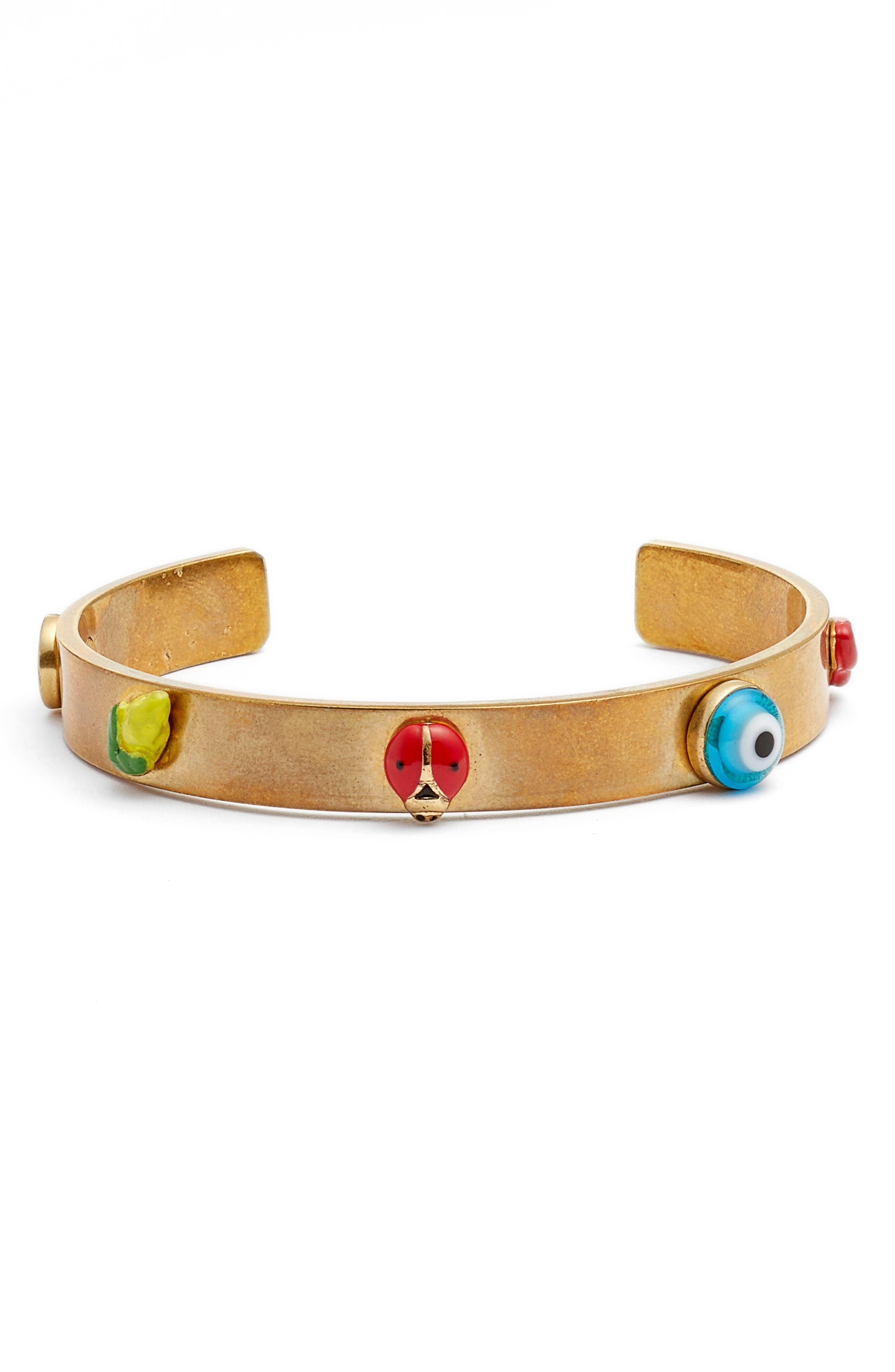 Crazy Charms Cuff,                         Main,                         color, 961