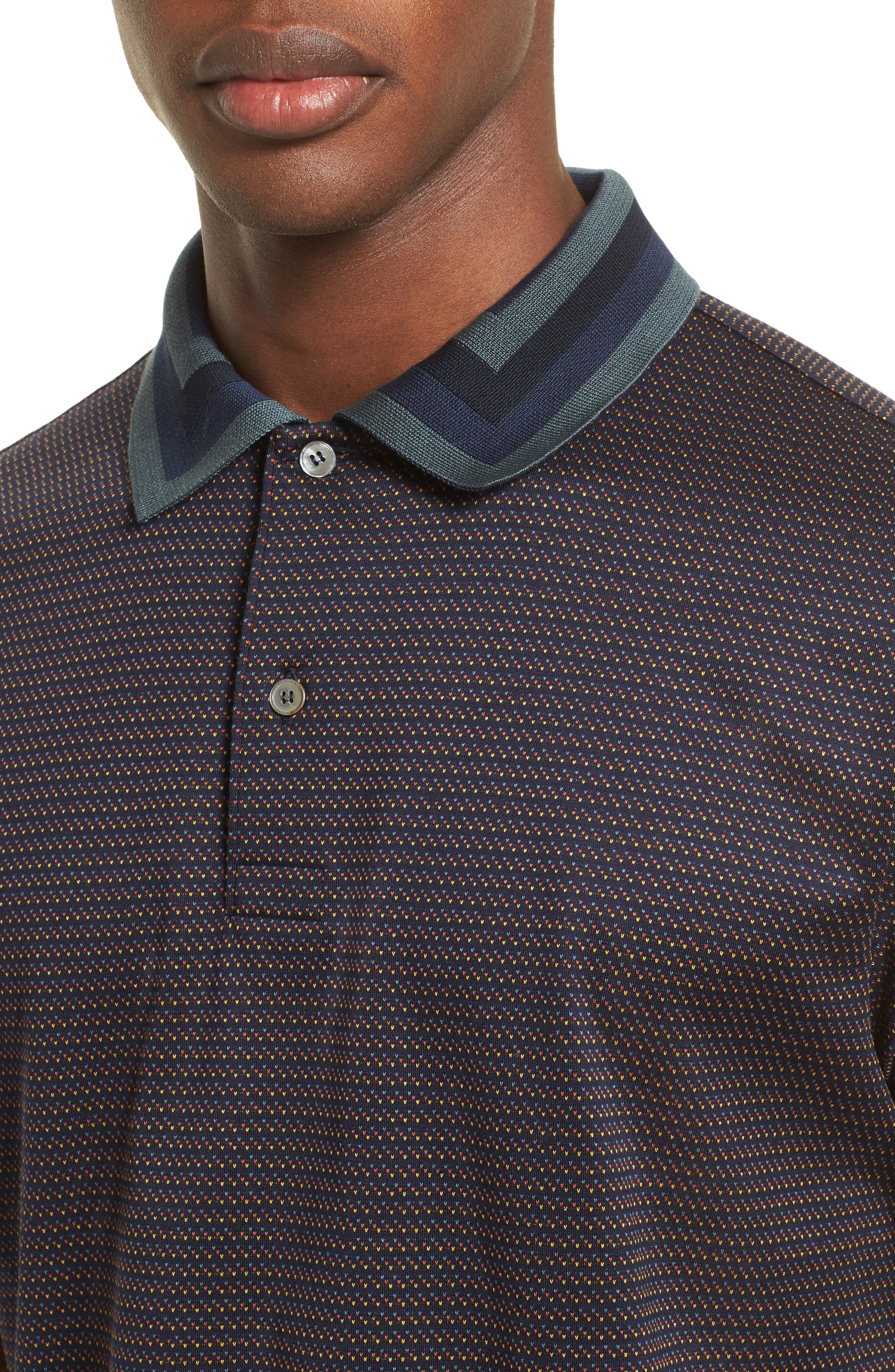 Micro Dot Polo,                             Alternate thumbnail 4, color,                             410
