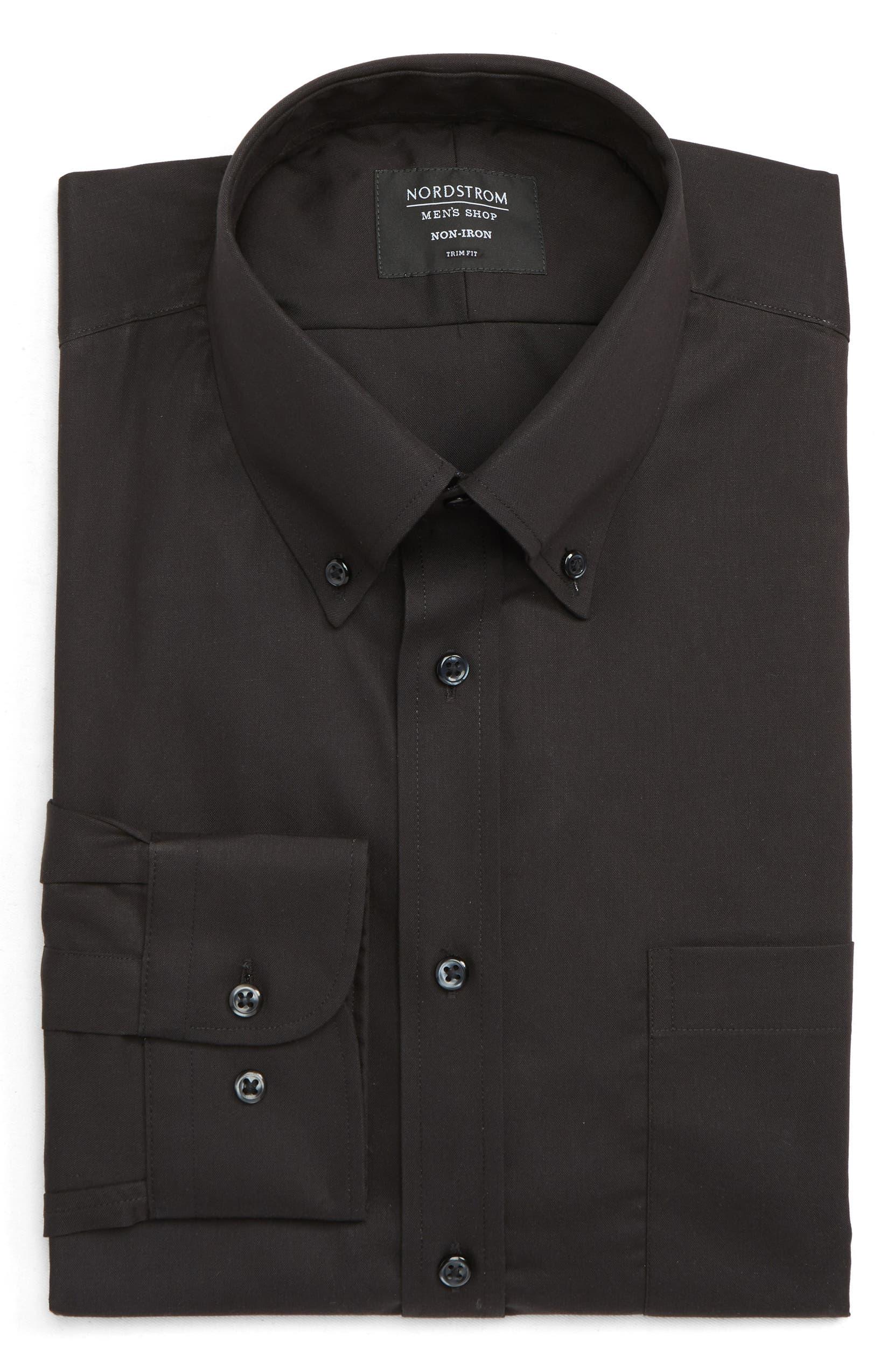Nordstrom Mens Shop Trim Fit Non Iron Dress Shirt Nordstrom