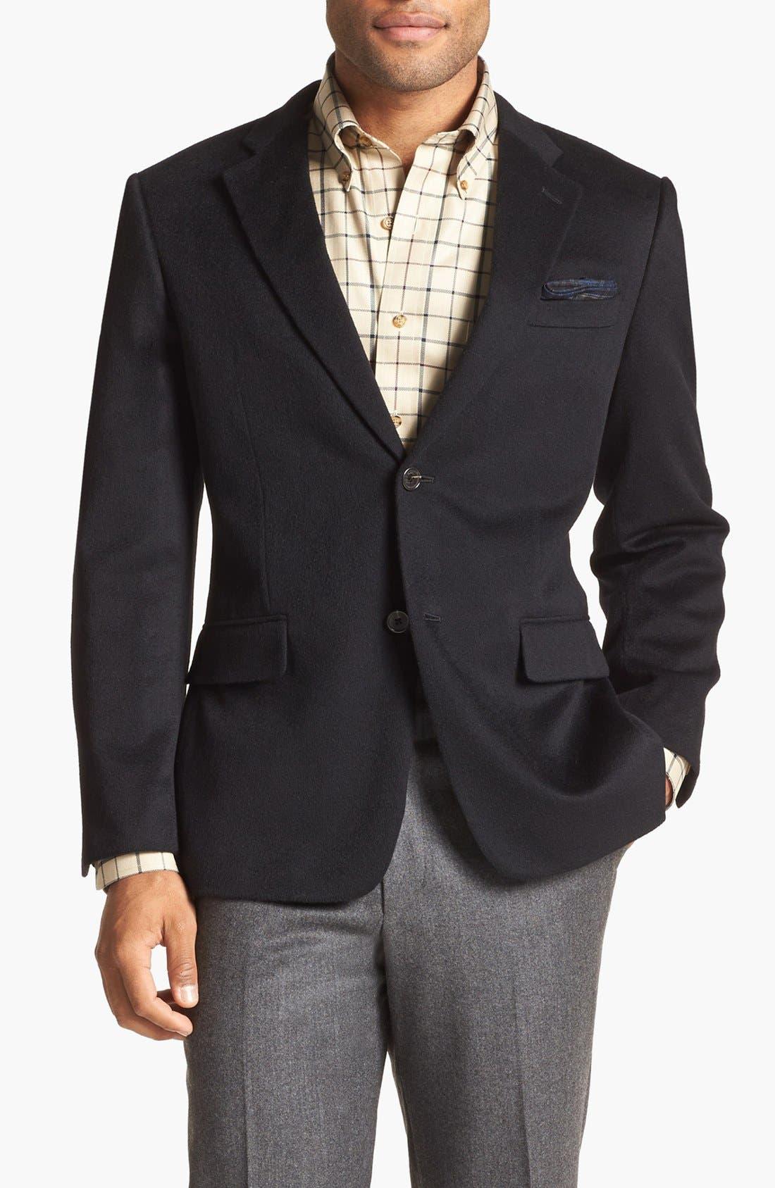 Cashmere Blazer, Main, color, 001