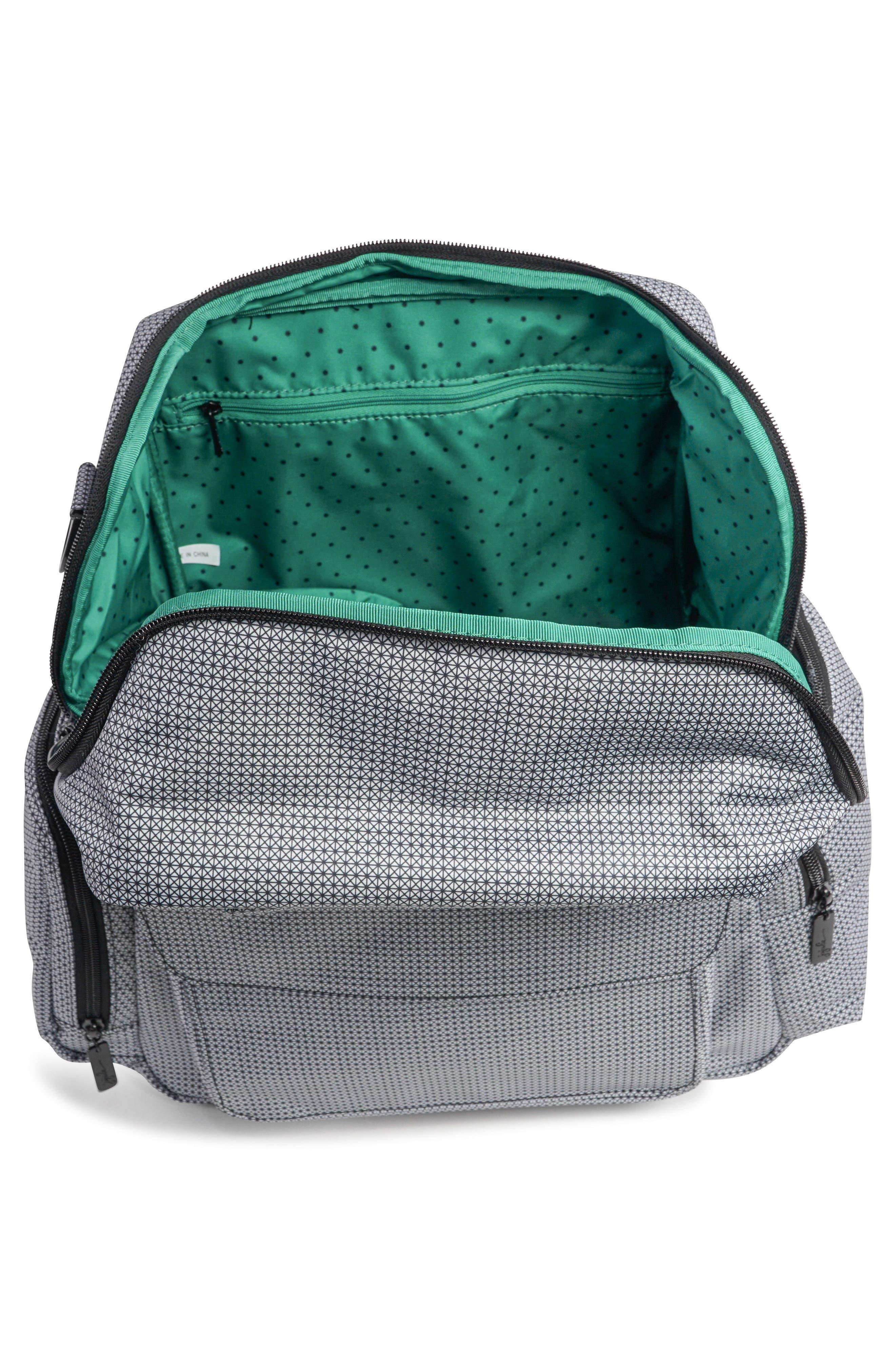 Be Nurtured Pumping Backpack,                             Alternate thumbnail 4, color,                             BLACK MATRIX