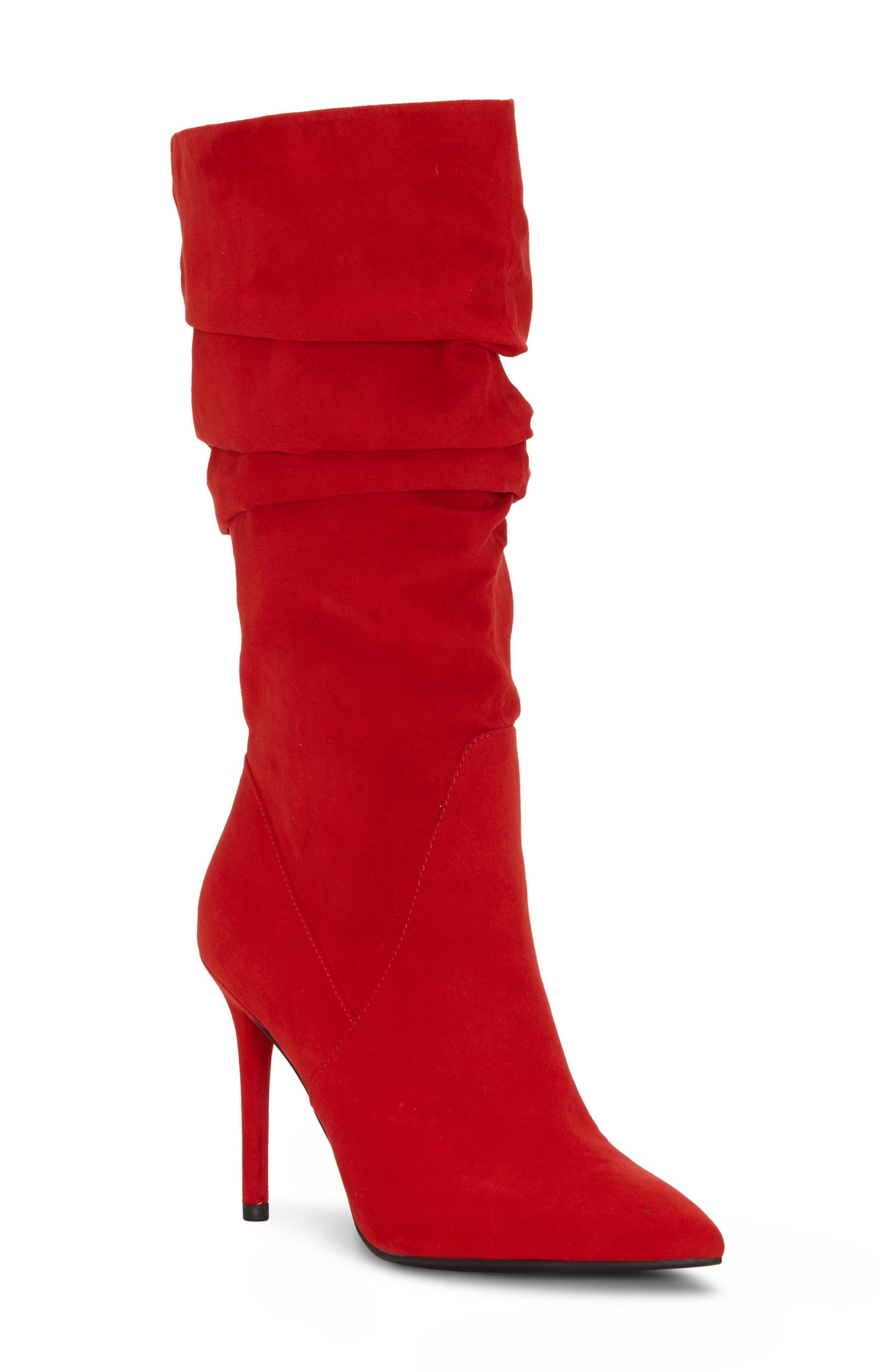 Jessica Simpson Larsa Boot- Red