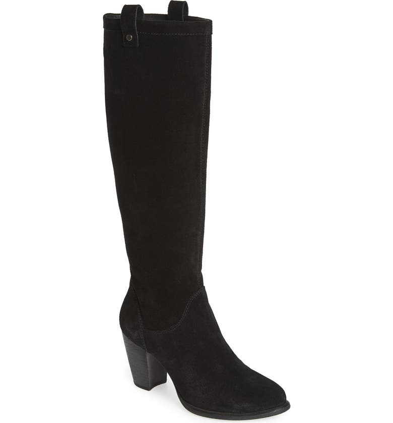 'Ava' Tall Water Resistant Suede Boot, ...
