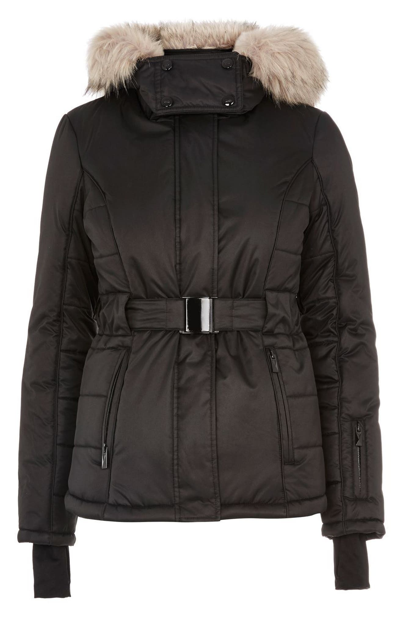 SNO Amazon Puffer Jacket,                             Alternate thumbnail 5, color,                             001