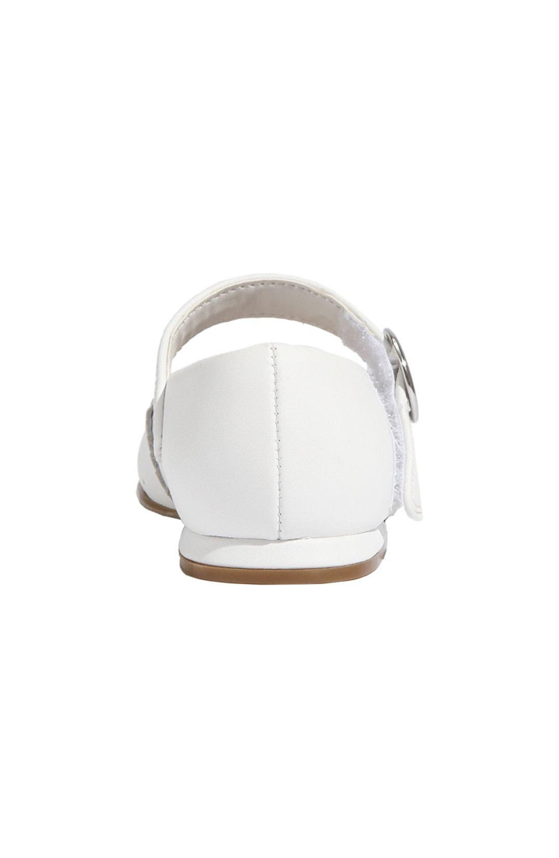 STRIDE RITE,                             'Camila' Mary Jane,                             Alternate thumbnail 2, color,                             White Leather