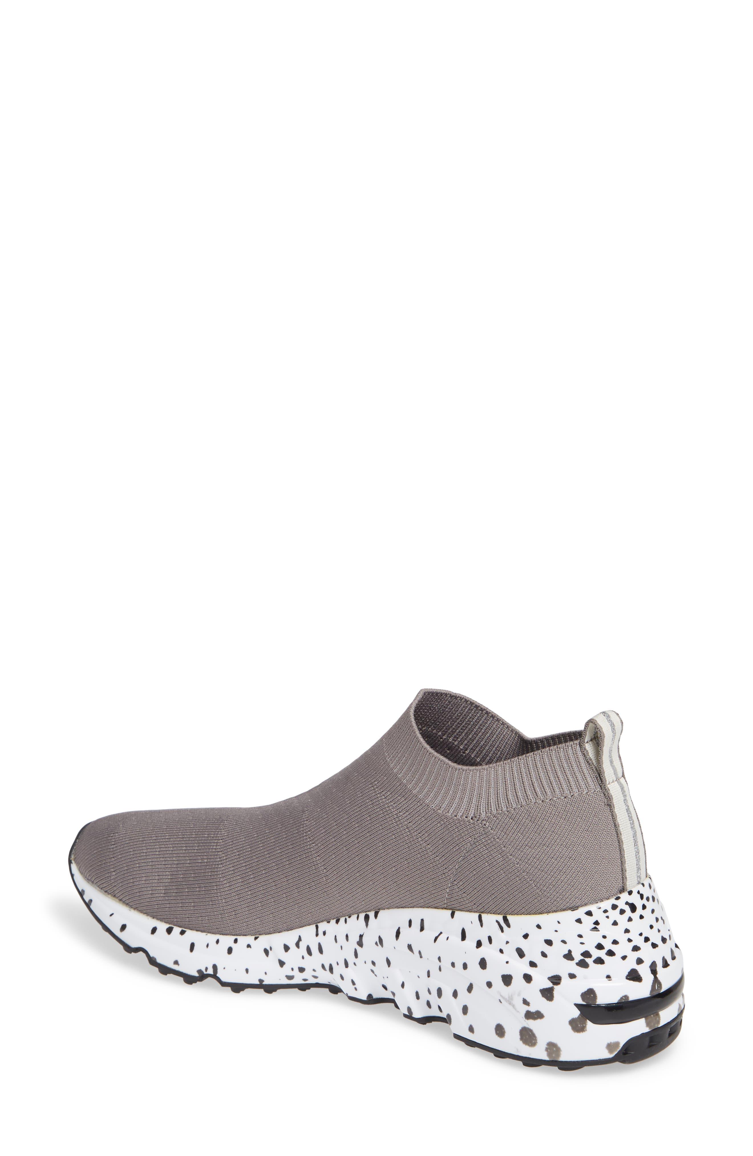 Cloud Sock Wedge Sneaker,                             Alternate thumbnail 2, color,                             GREY