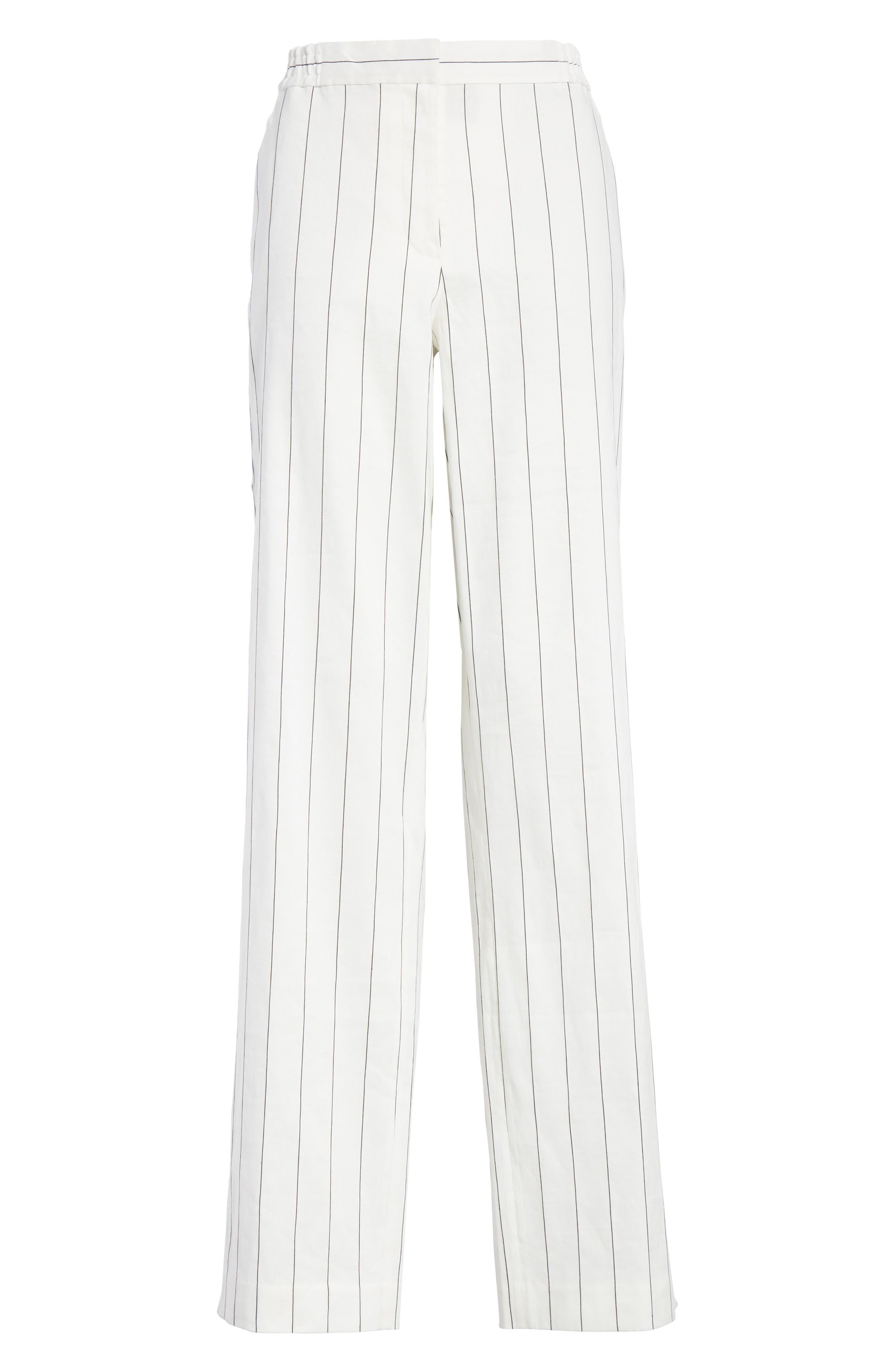 Snap Side Stripe Pants,                             Alternate thumbnail 6, color,                             907