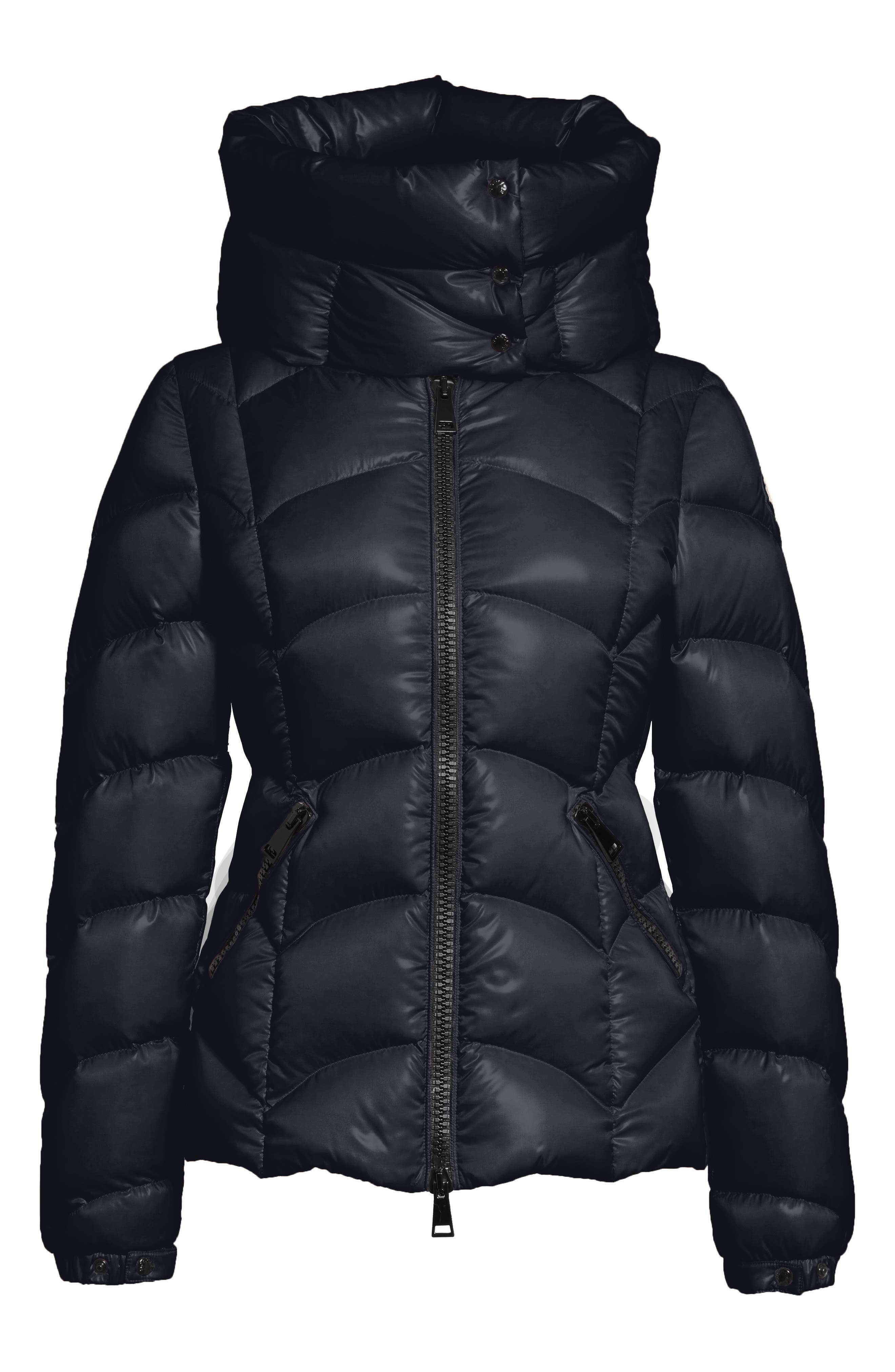 Akebia Quilted Down Jacket,                             Alternate thumbnail 5, color,                             NAVY