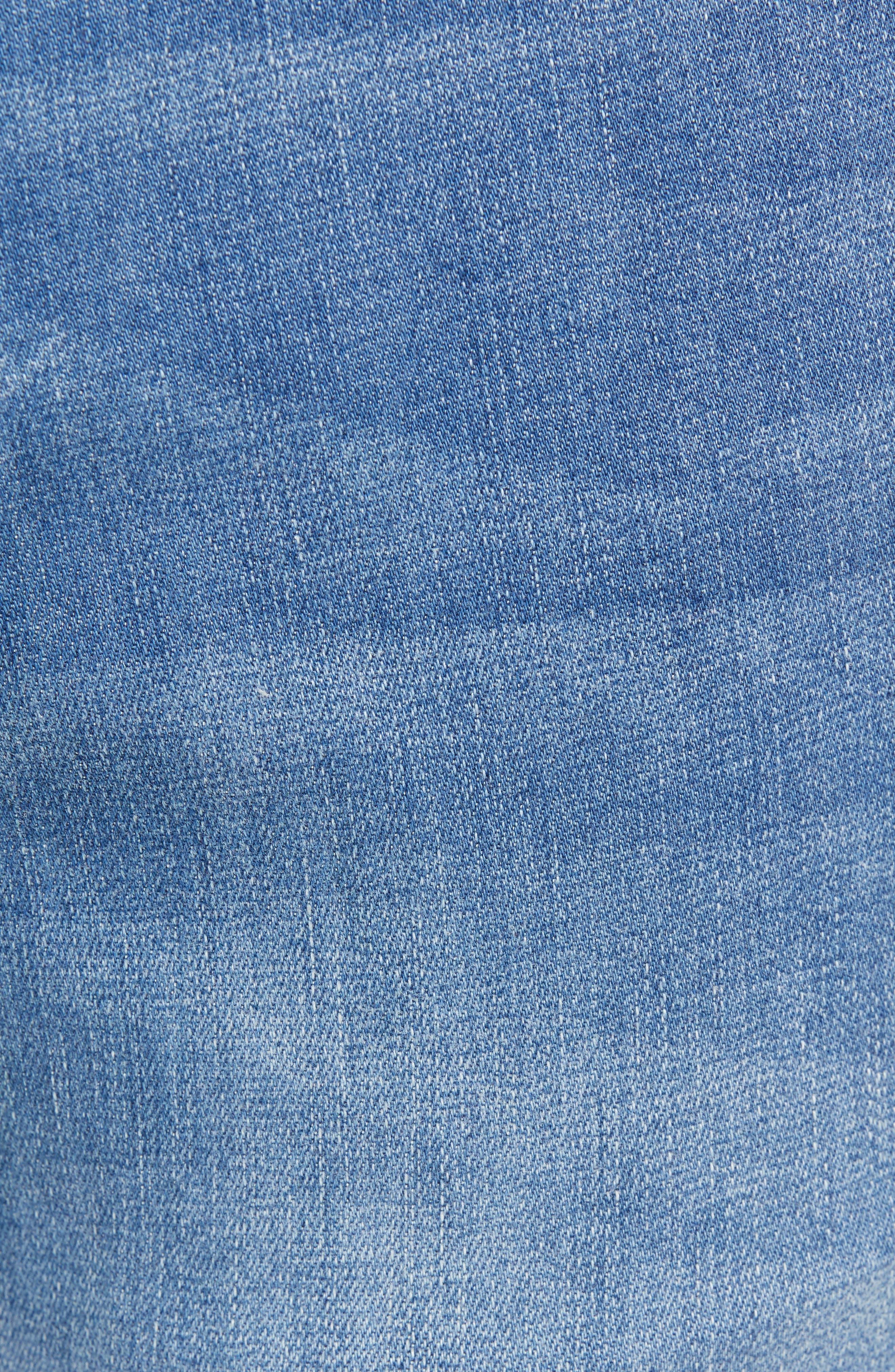 Costa Rica Vintage Regular Fit Jeans,                             Alternate thumbnail 5, color,                             MED WASH