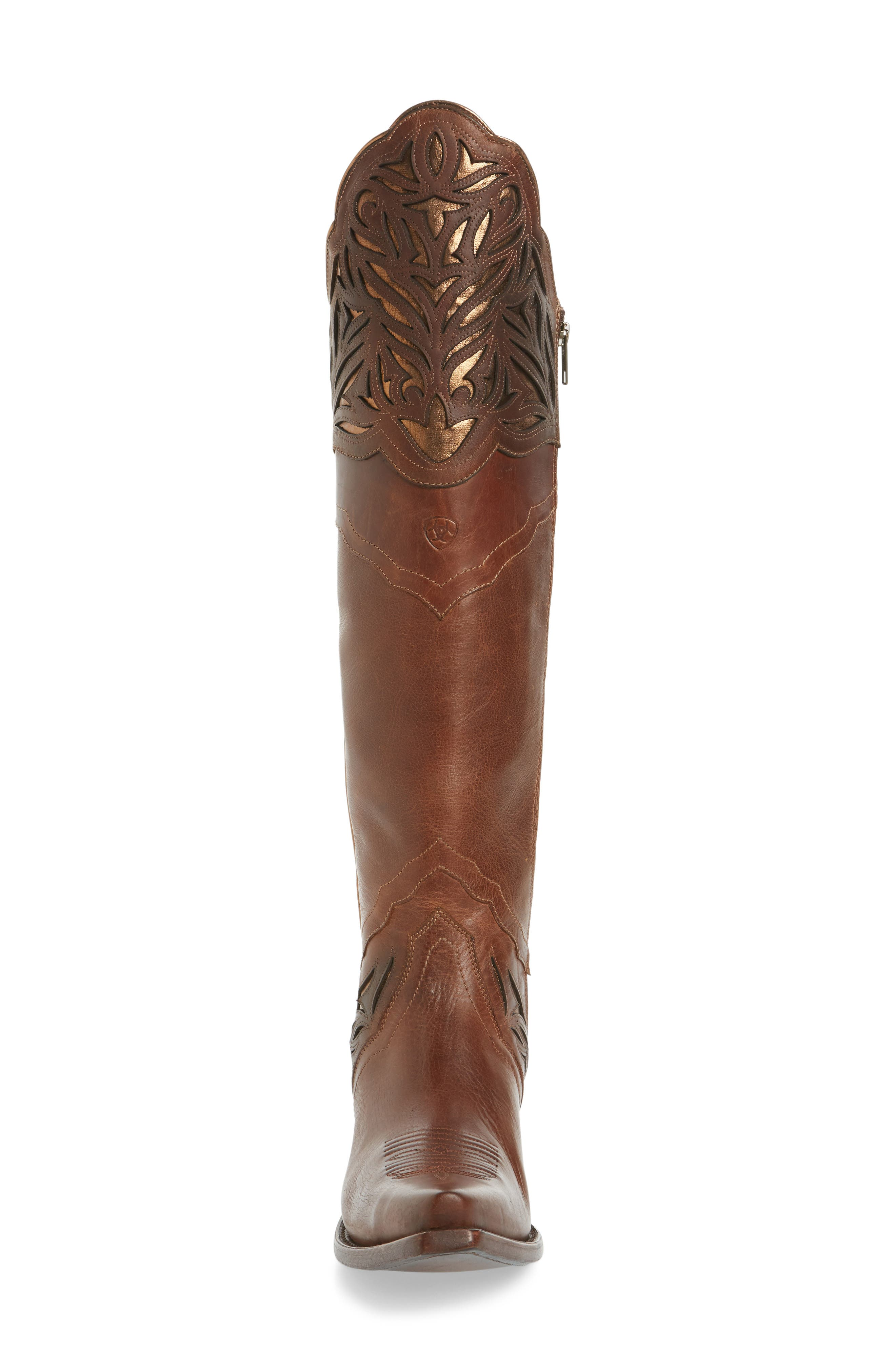 Chaparral Over the Knee Western Boot,                             Alternate thumbnail 3, color,                             200