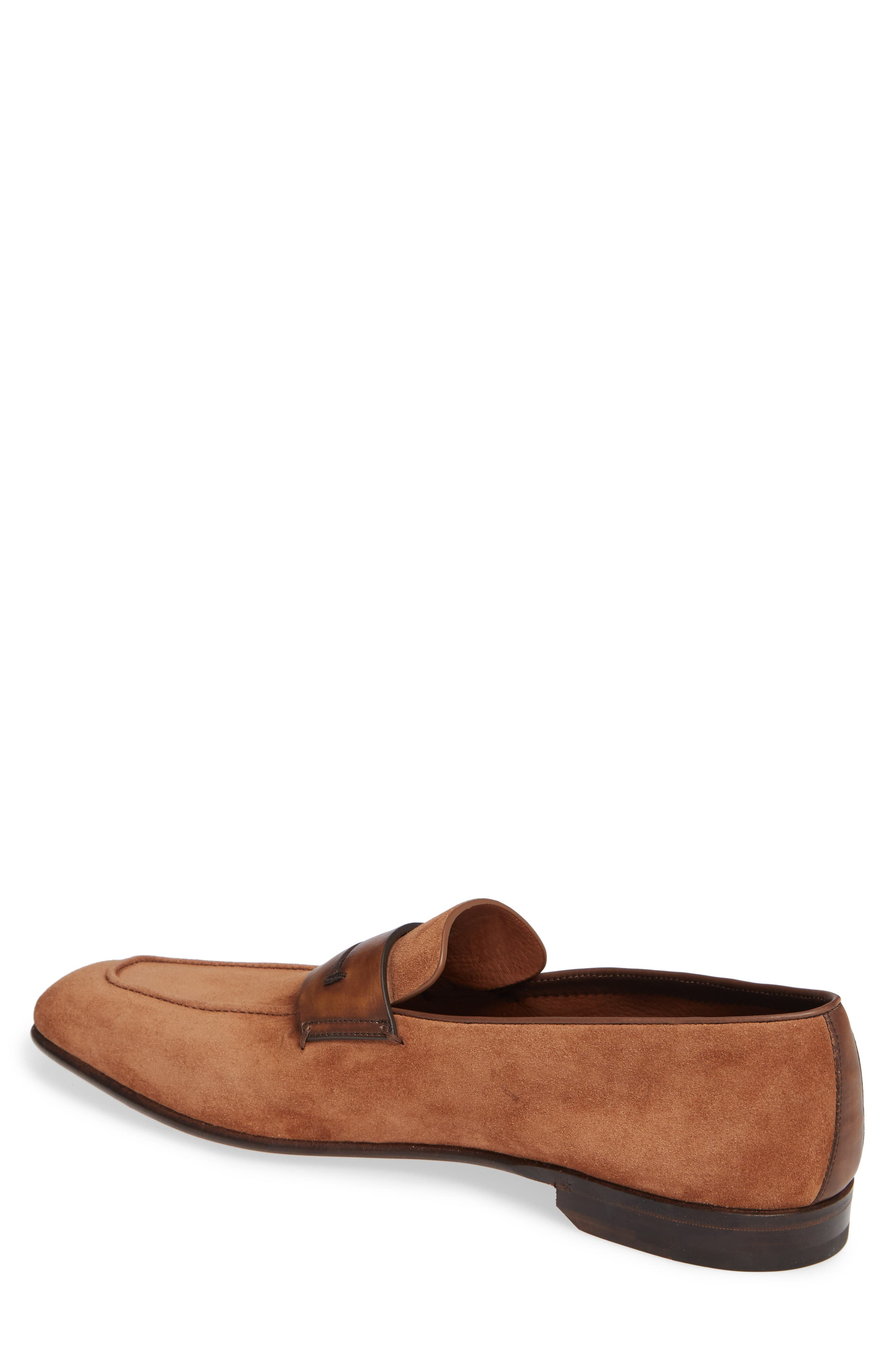 Penny Loafer,                             Alternate thumbnail 2, color,                             BROWN/BROWN