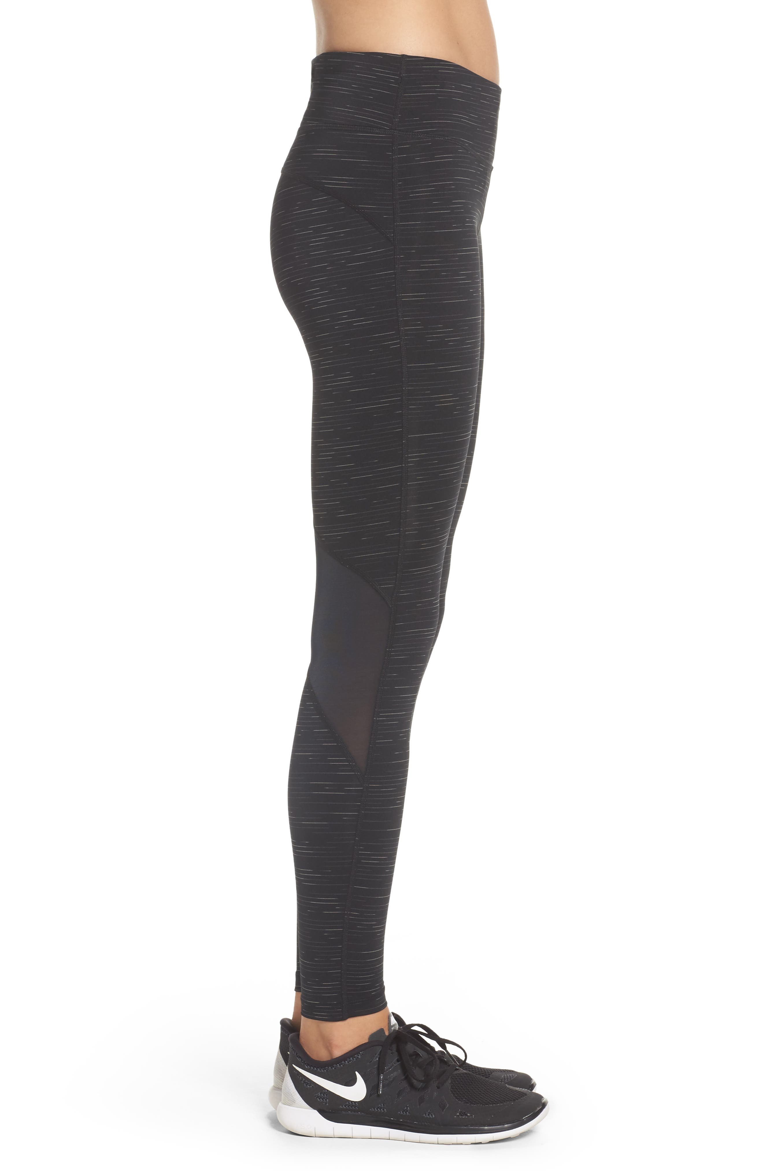 Power Epic Lux Running Tights,                             Alternate thumbnail 3, color,