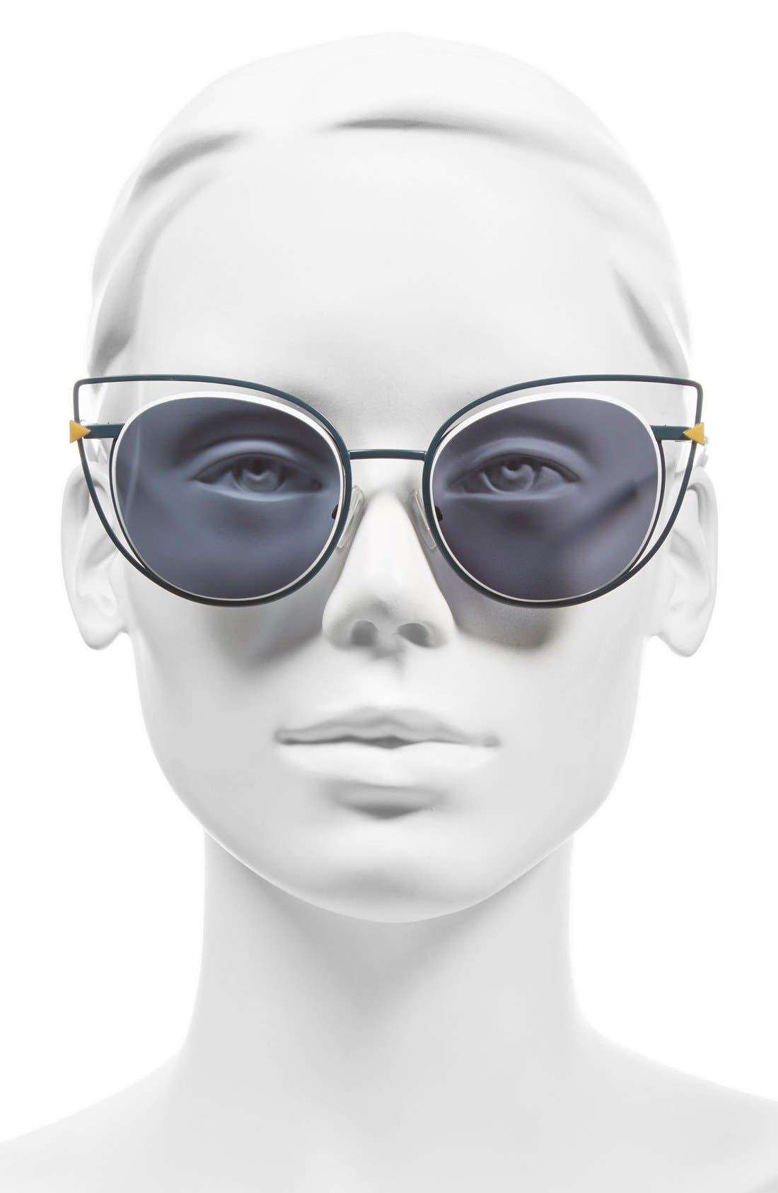 53mm Sunglasses,                             Alternate thumbnail 15, color,