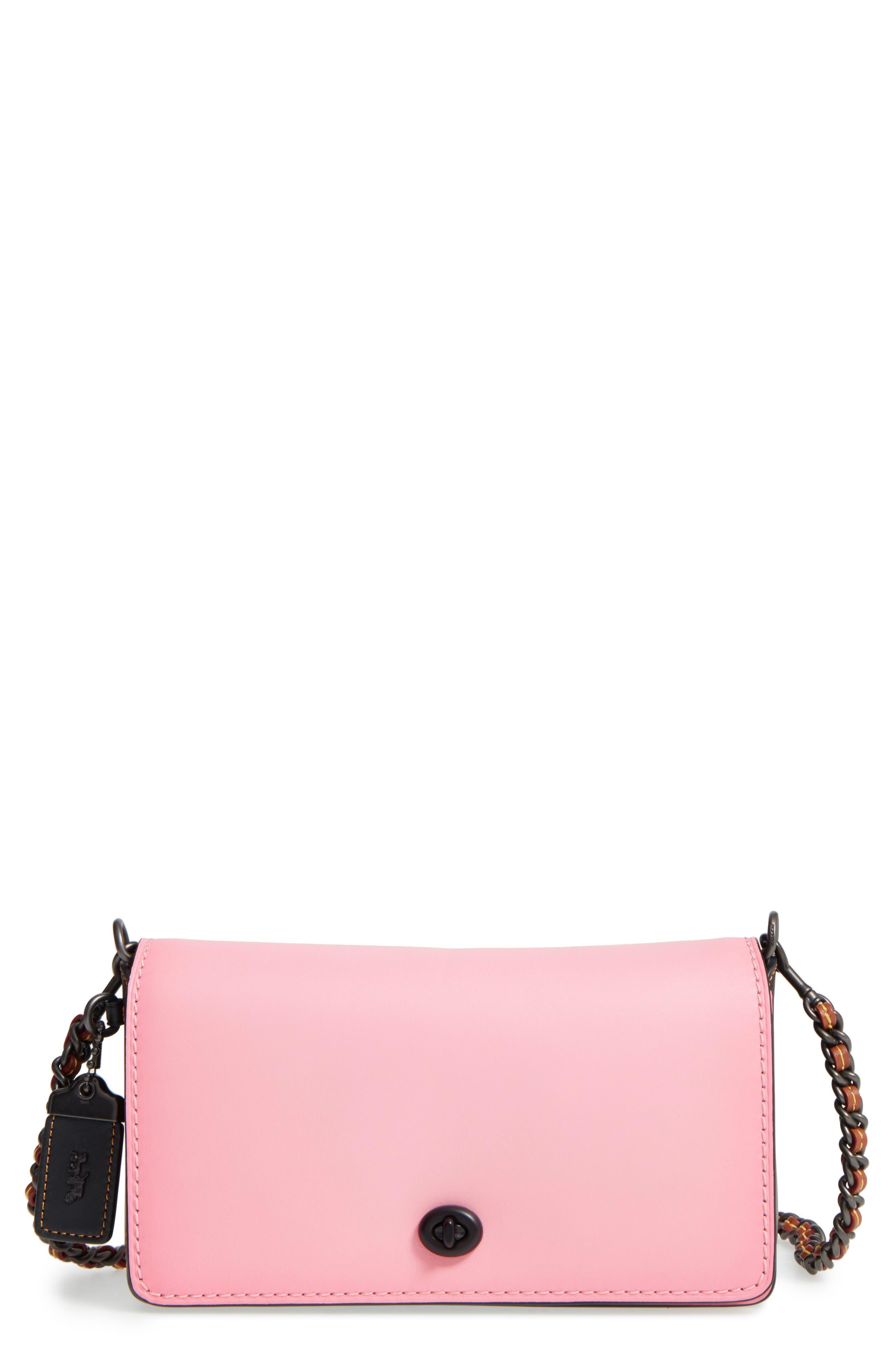 Dinky Leather Crossbody Bag,                             Main thumbnail 2, color,