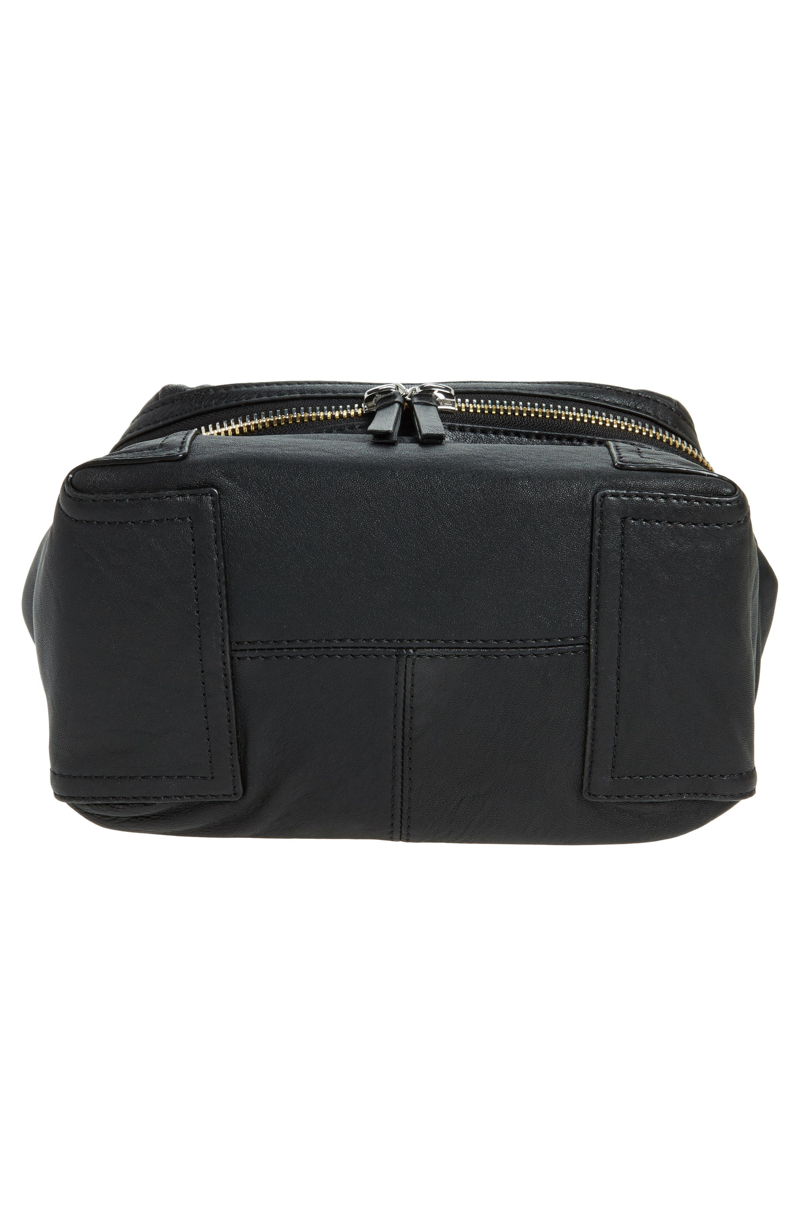 Medium Patch Leather Crossbody Bag,                             Alternate thumbnail 6, color,                             002