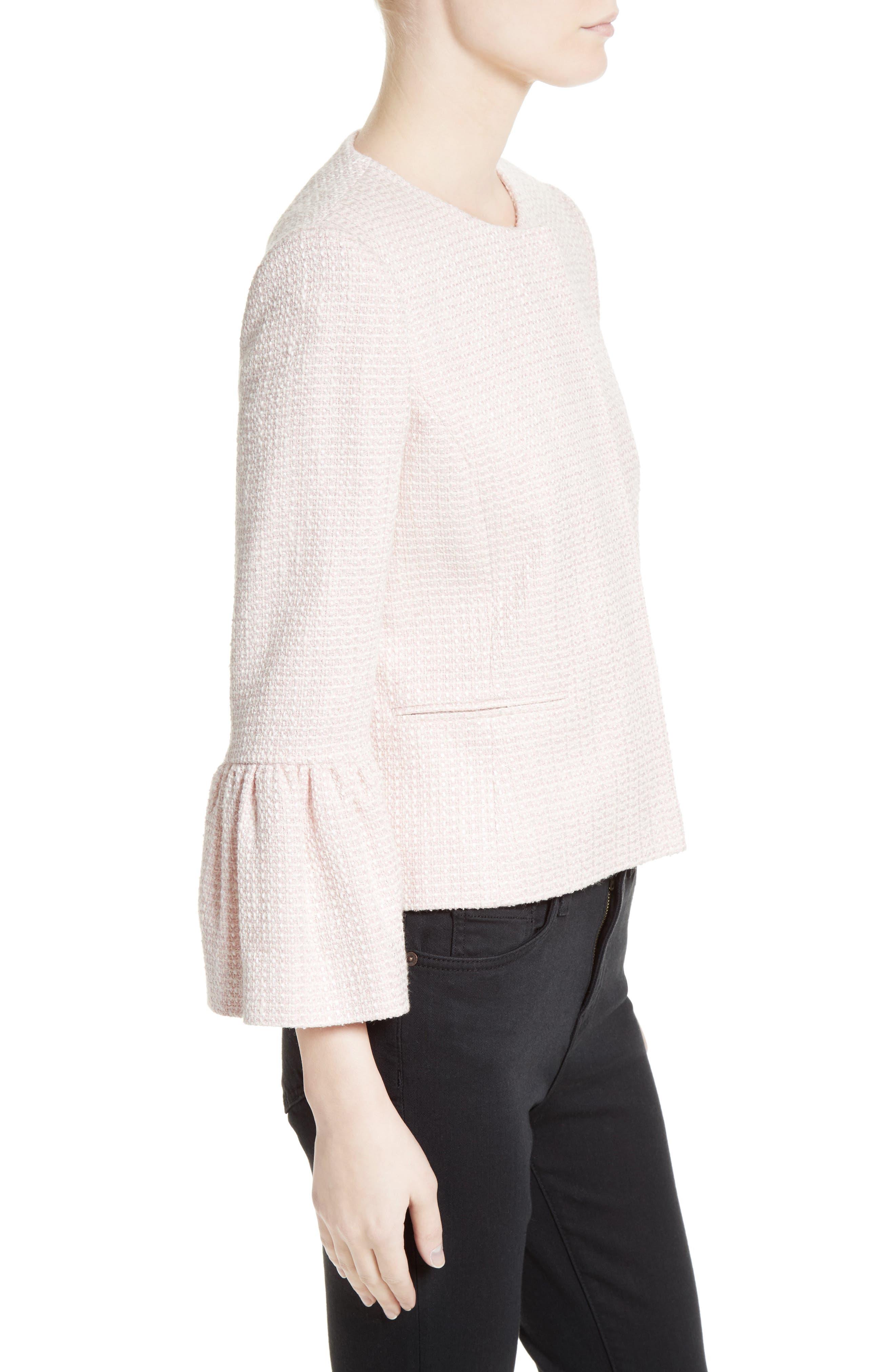 Tweed Jacket,                             Alternate thumbnail 3, color,                             650