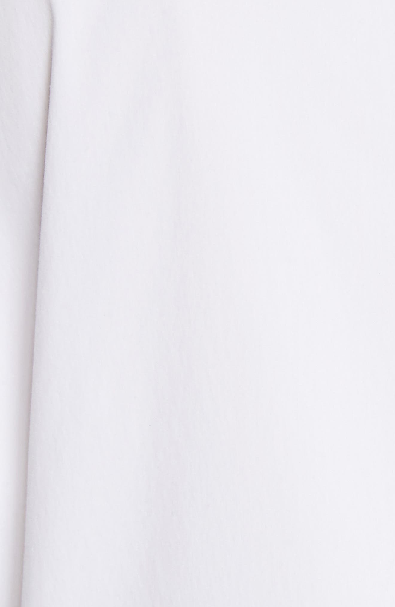 Victoria Cotton Blend Blouse,                             Alternate thumbnail 5, color,                             100