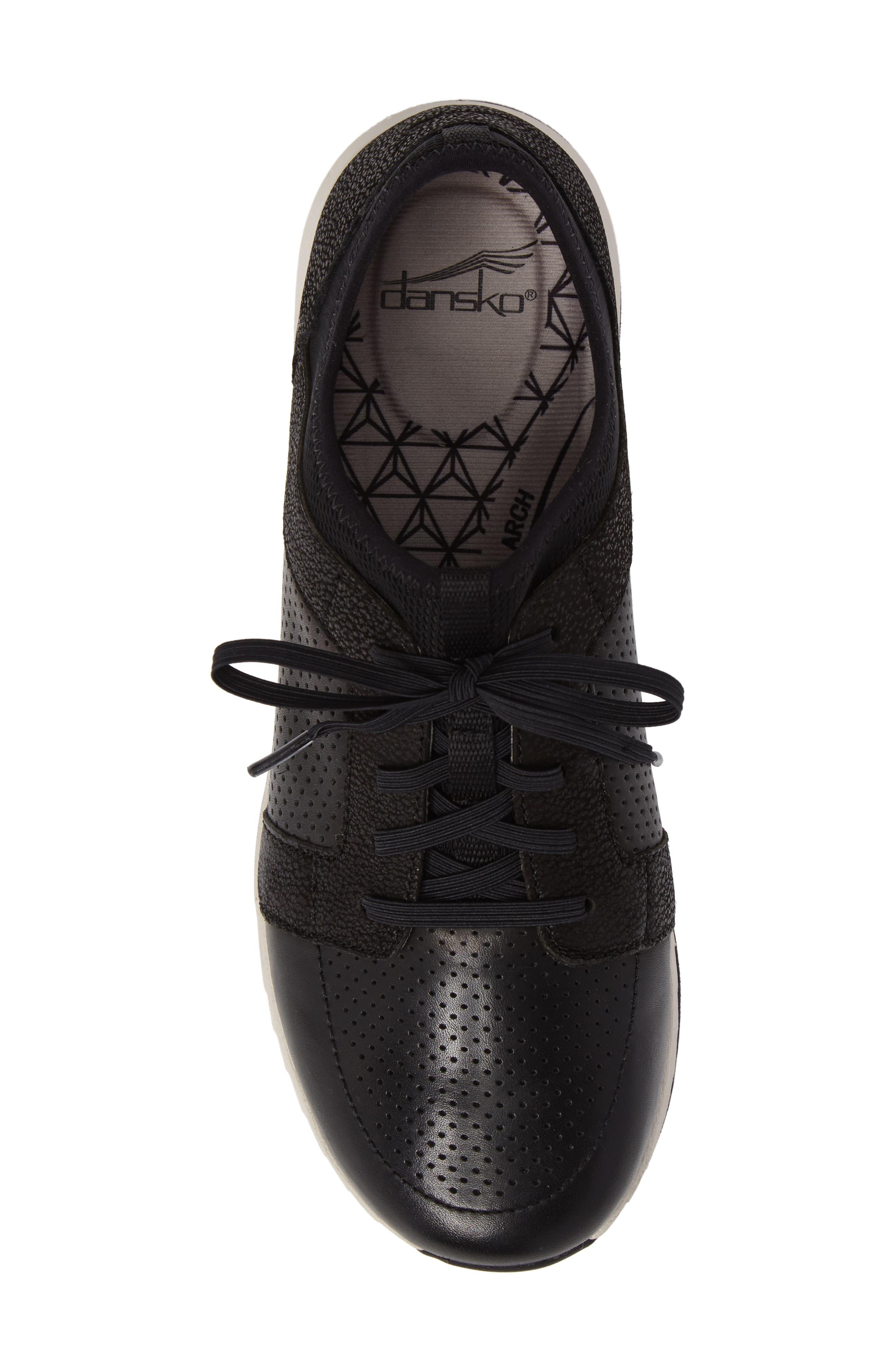Cozette Slip-On Sneaker,                             Alternate thumbnail 5, color,                             001