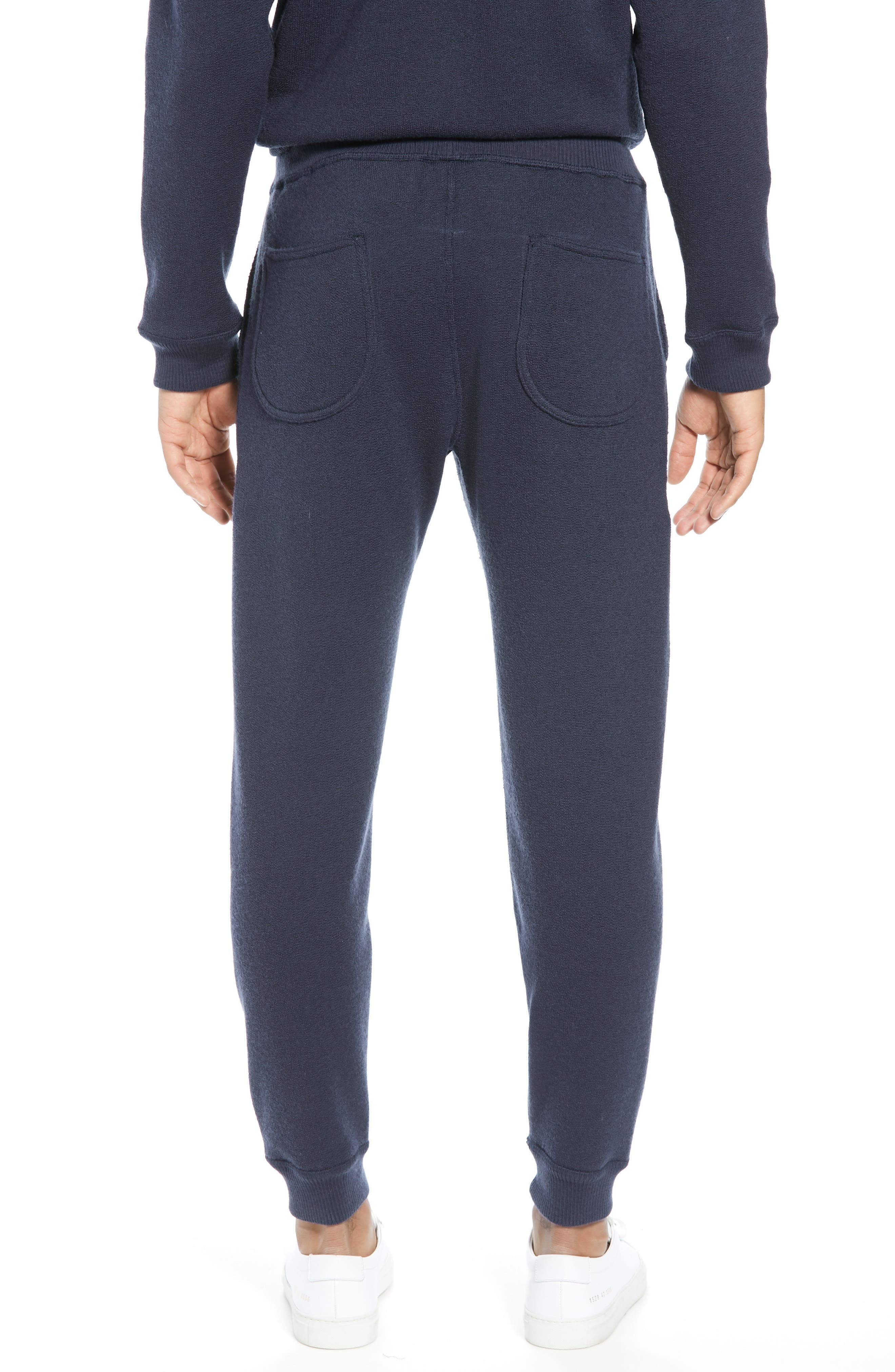 BEST MADE CO.,                             The Merino Wool Fleece Sweatpants,                             Alternate thumbnail 3, color,                             NAVY