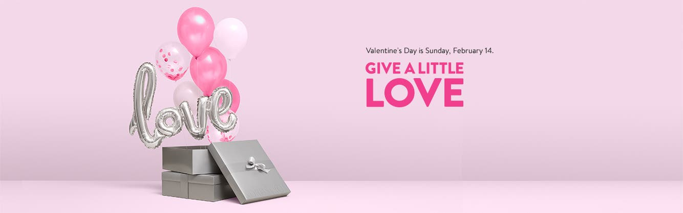 Give a little love: Valentine's Day is Sunday, February 14.