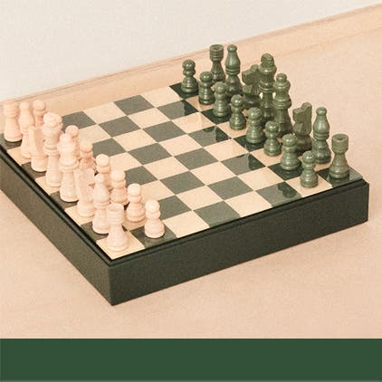 Gifts for him under $100: a chess set.