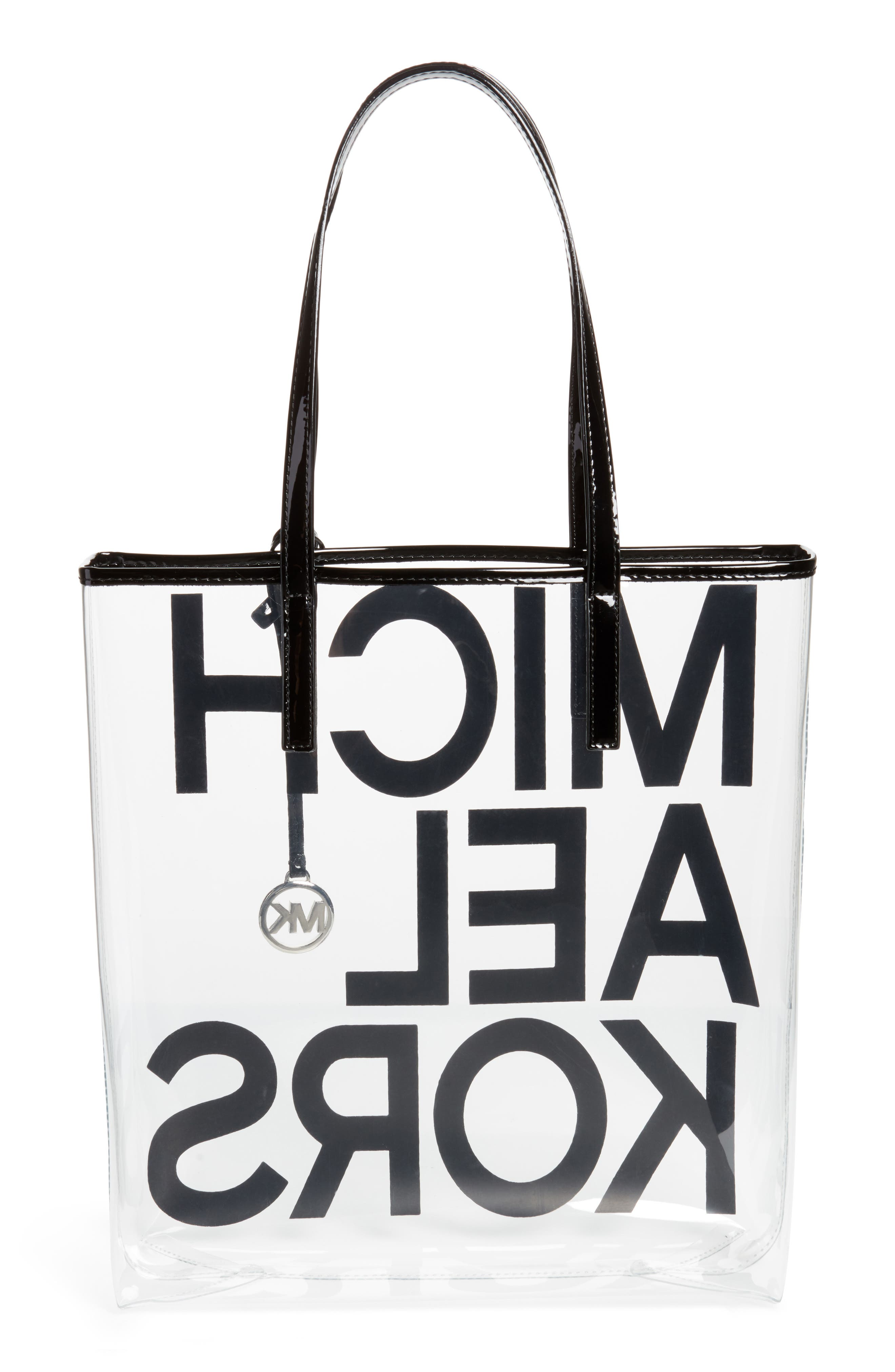 North/South Transparent Tote,                             Alternate thumbnail 3, color,                             002
