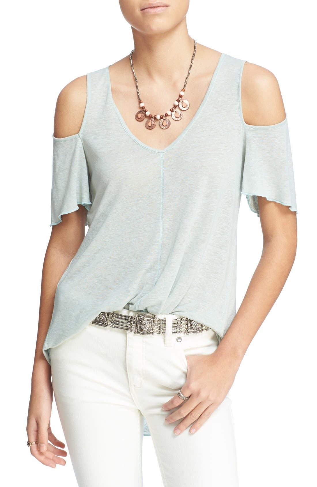 Bittersweet Cold Shoulder Top,                             Main thumbnail 3, color,