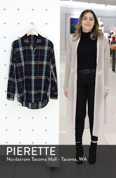 Oversize Ex-Boyfriend Plaid Shirt, sales video thumbnail