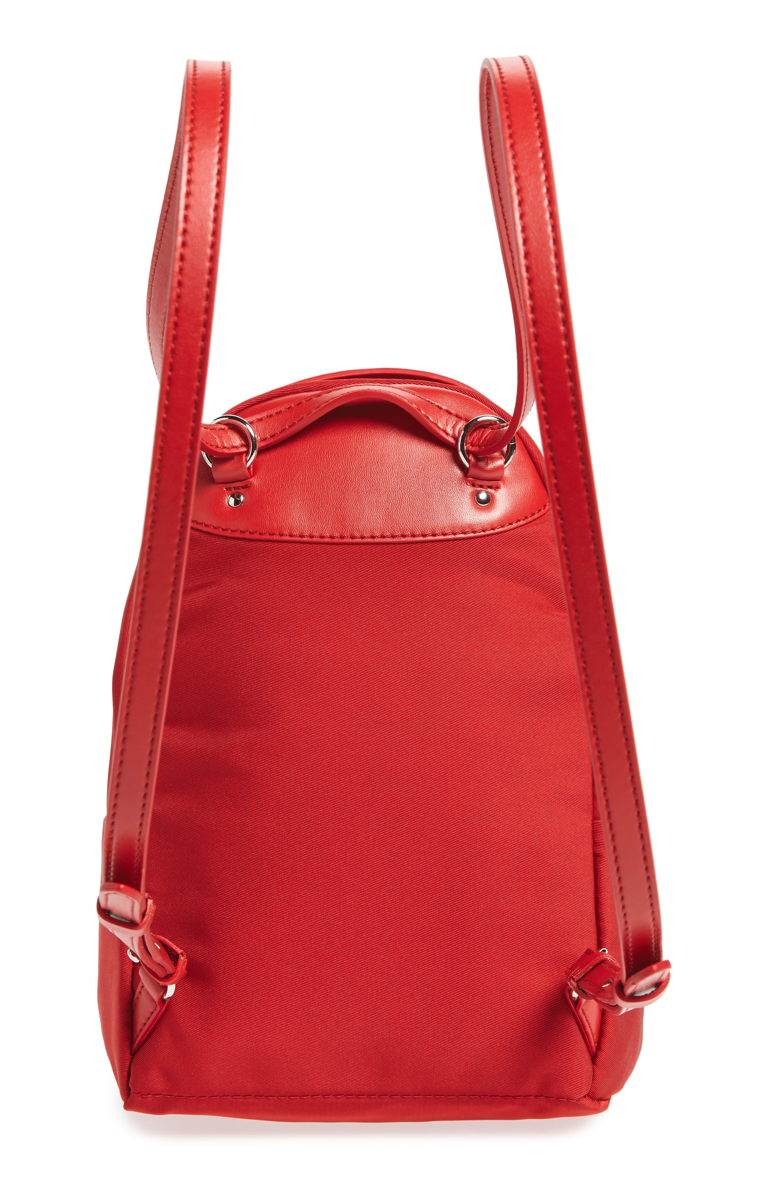 Mini Falabella Nylon Backpack,                             Alternate thumbnail 6, color,