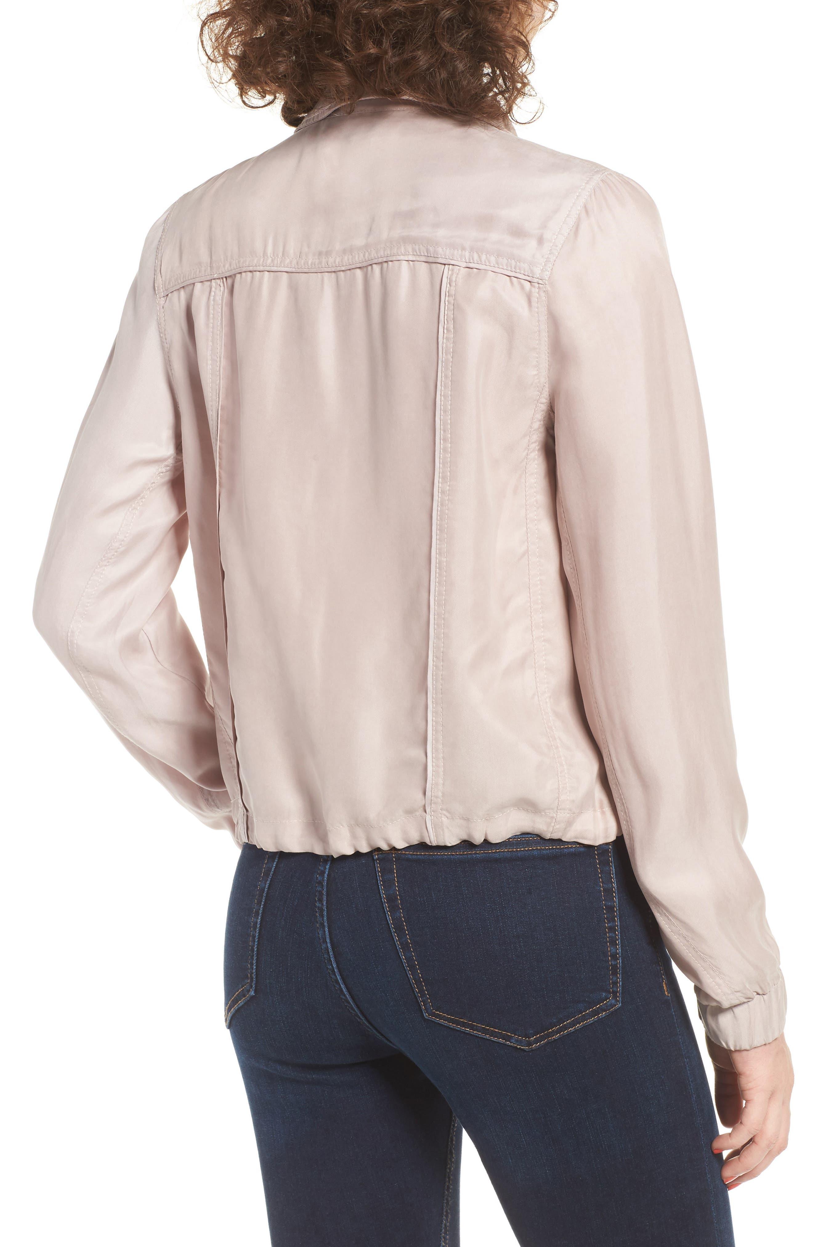 BLANKNYC,                             Tencel Moto Jacket,                             Alternate thumbnail 2, color,                             550