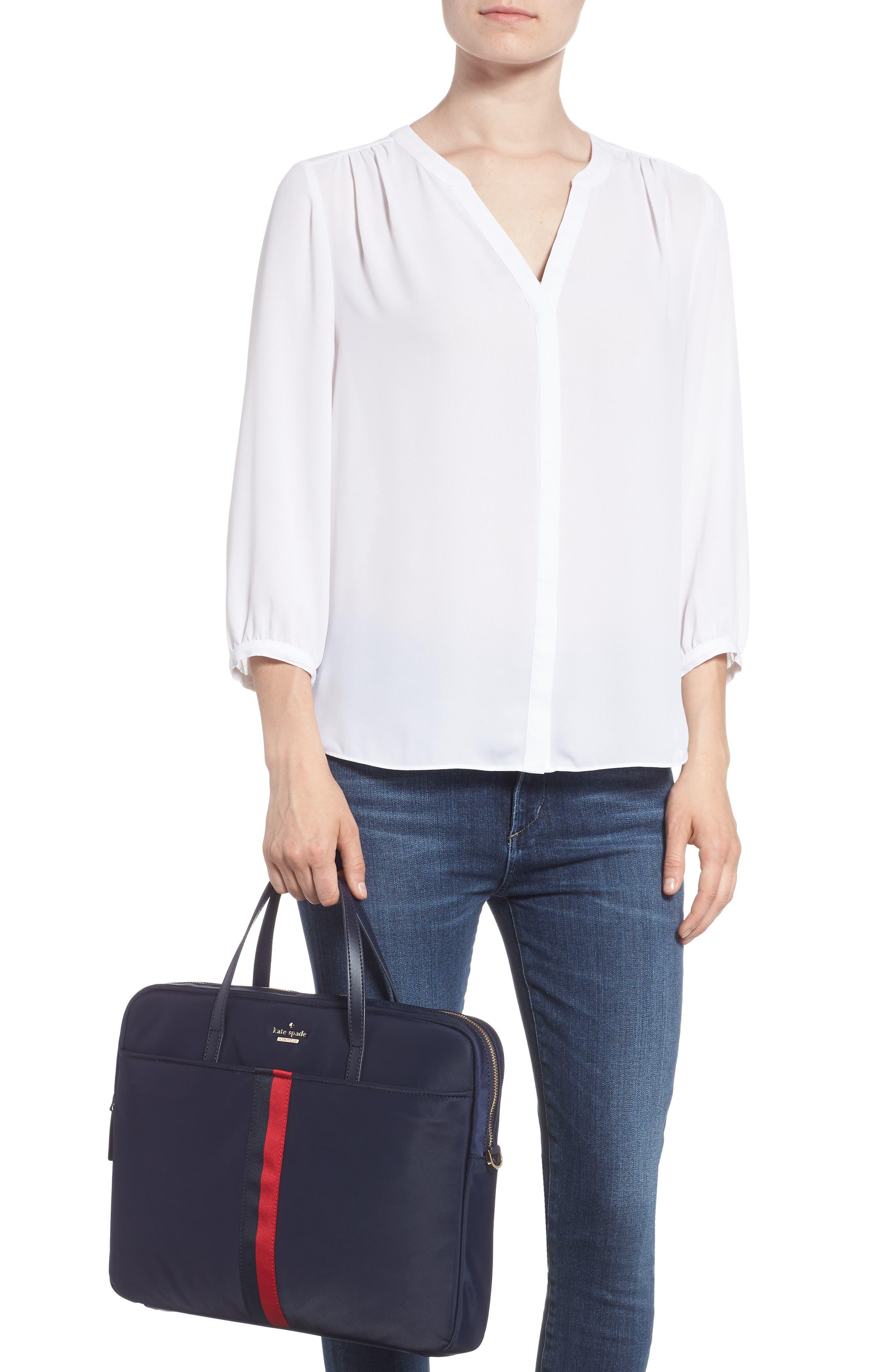 varsity stripe 15-inch laptop bag,                             Alternate thumbnail 2, color,                             493