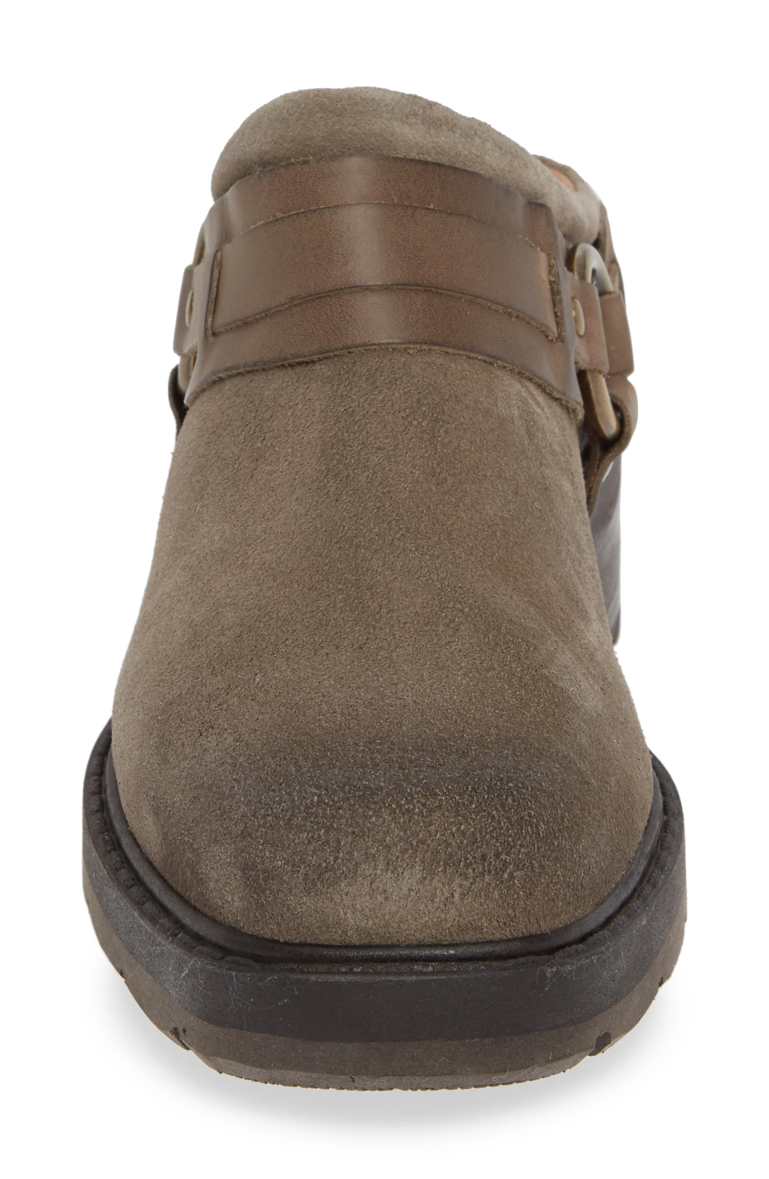 Marco Mule,                             Alternate thumbnail 4, color,                             TAUPE LEATHER