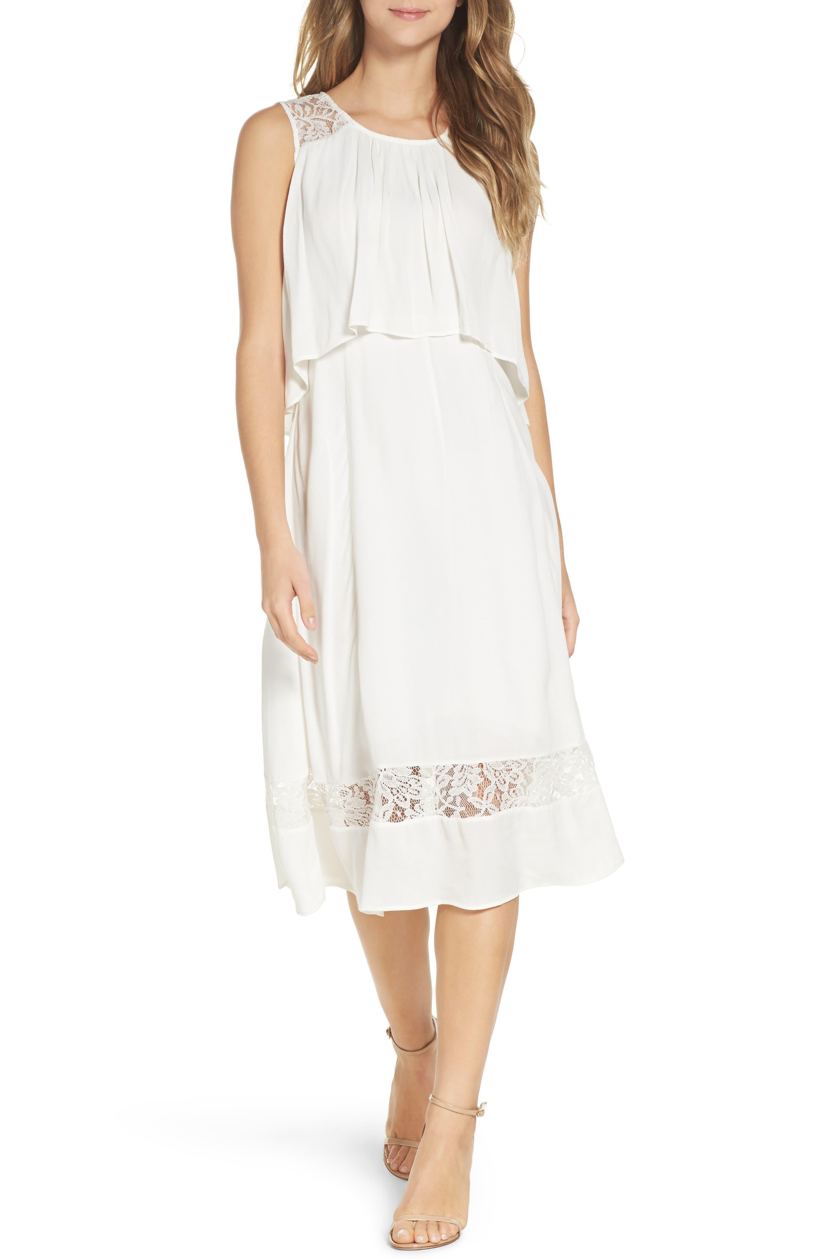 BB Dakota Erin Popover Dress,                         Main,                         color, 402