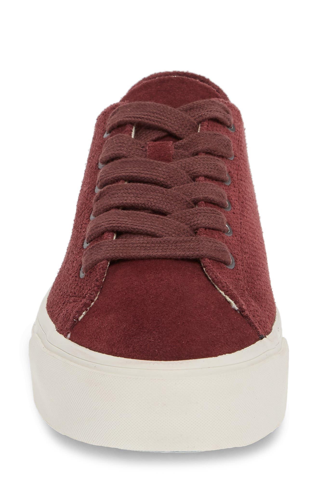 Sausalito Sneaker,                             Alternate thumbnail 4, color,                             WINE