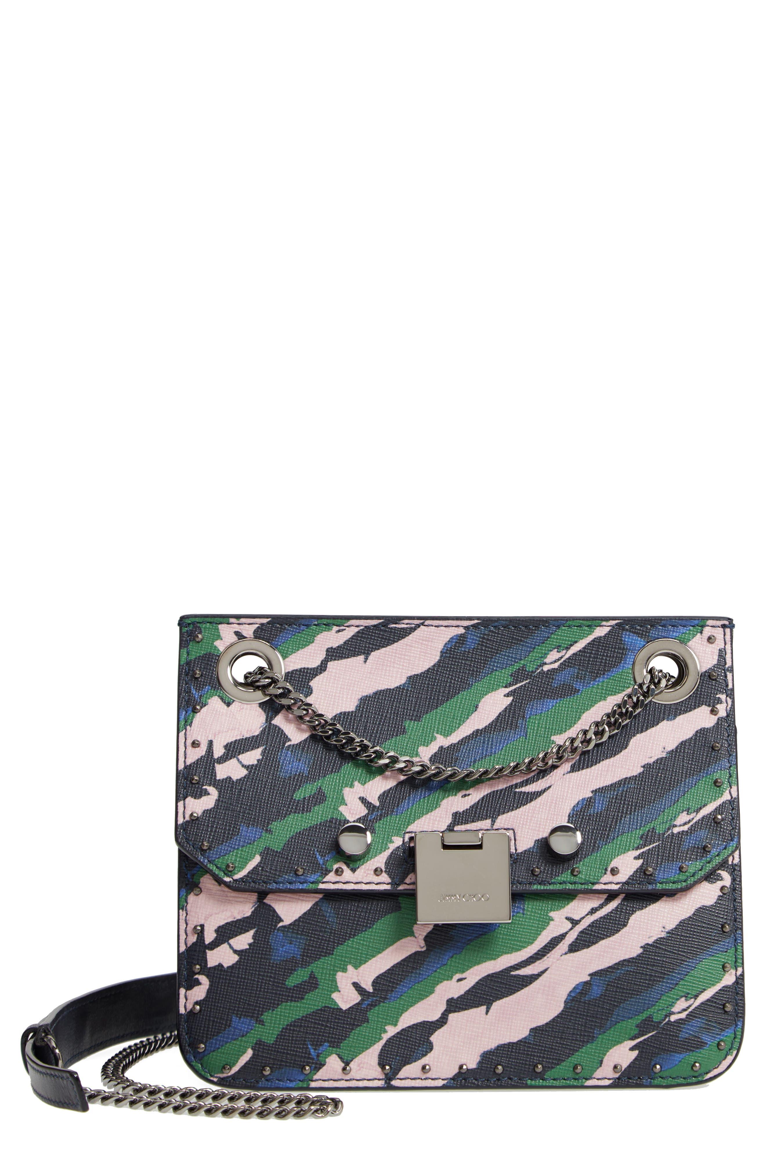 Rebel Leather Crossbody Bag,                         Main,                         color, 410