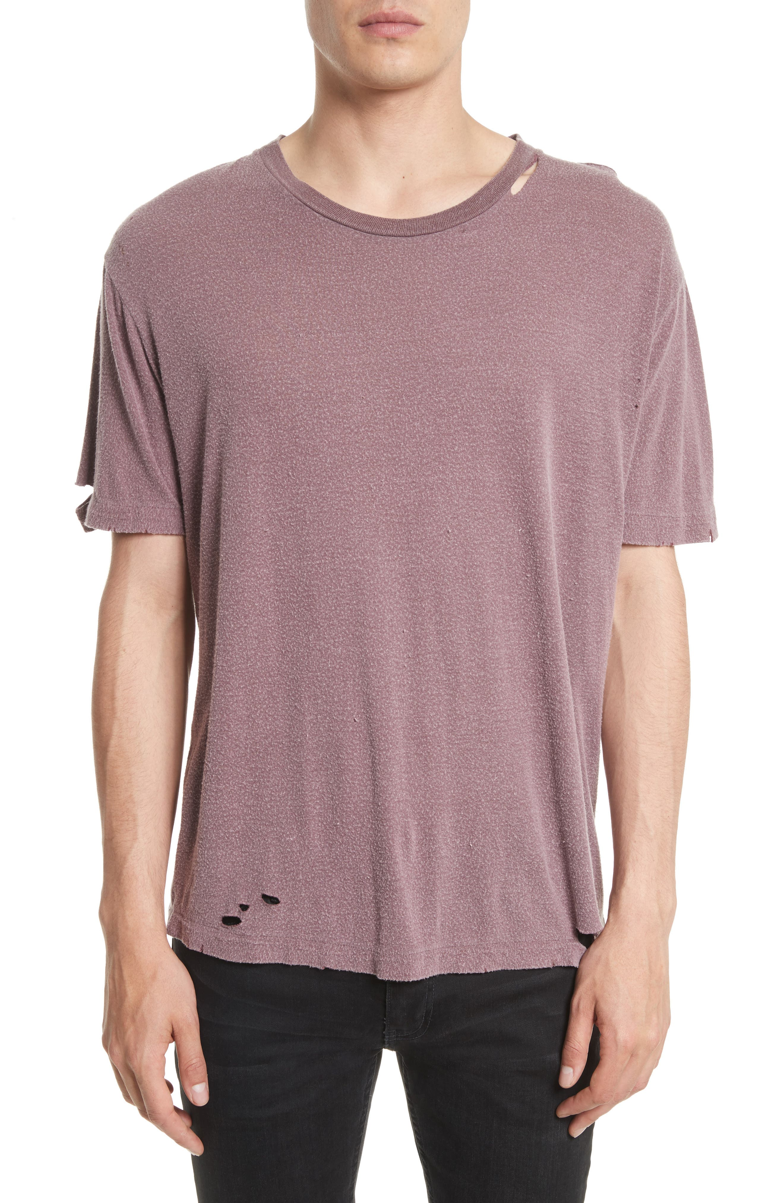 Finnis Destroyed T-Shirt,                             Main thumbnail 1, color,