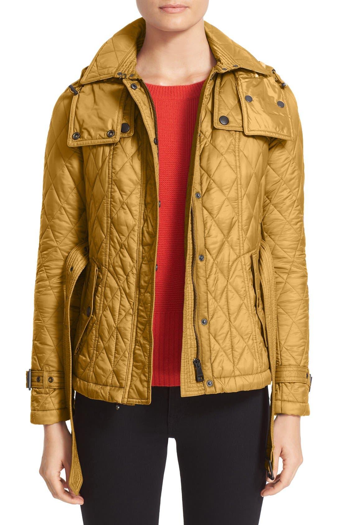 Finsbridge ShortQuilted Jacket,                             Main thumbnail 3, color,