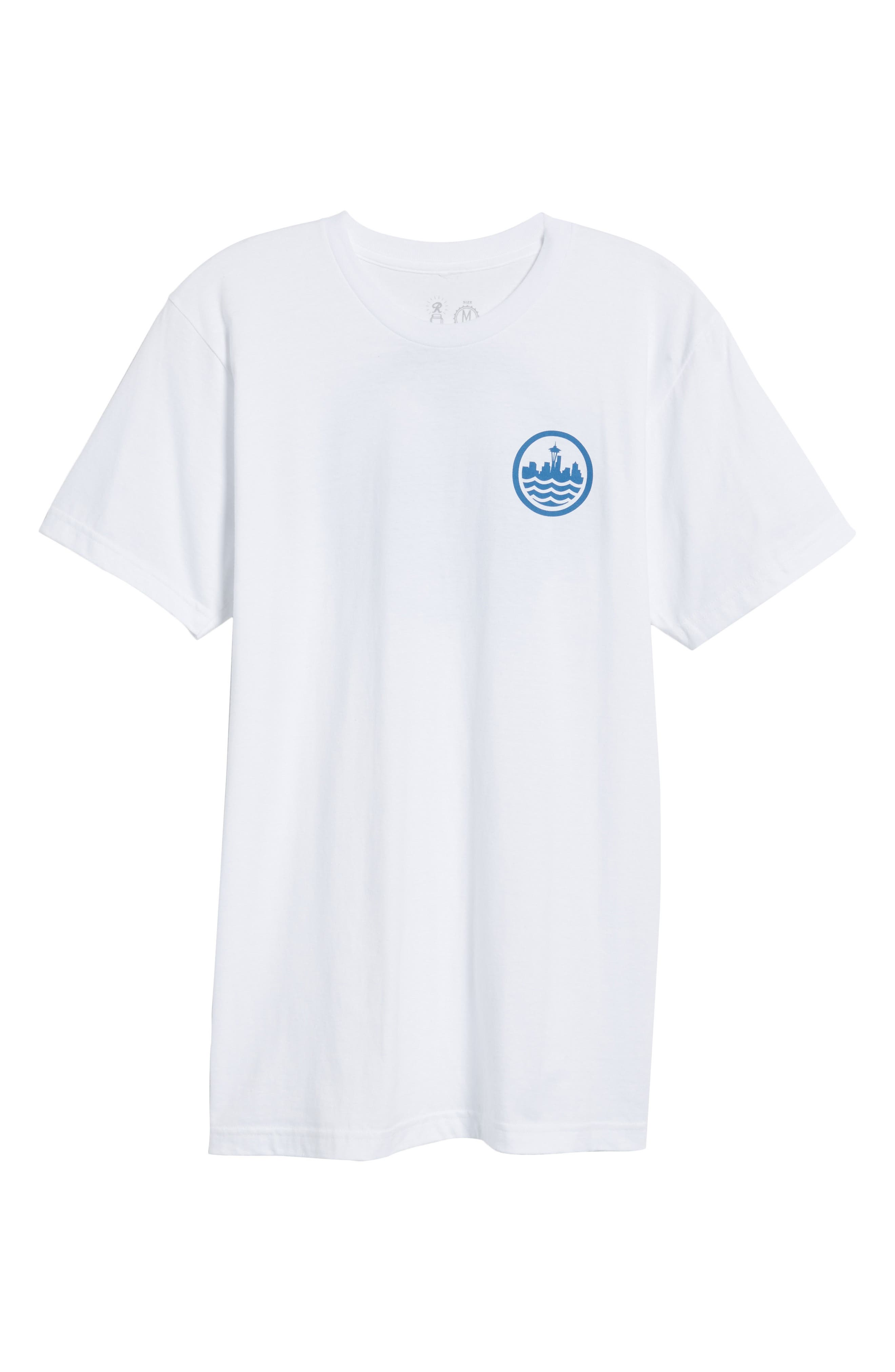 Sea Graphic T-Shirt,                             Alternate thumbnail 11, color,
