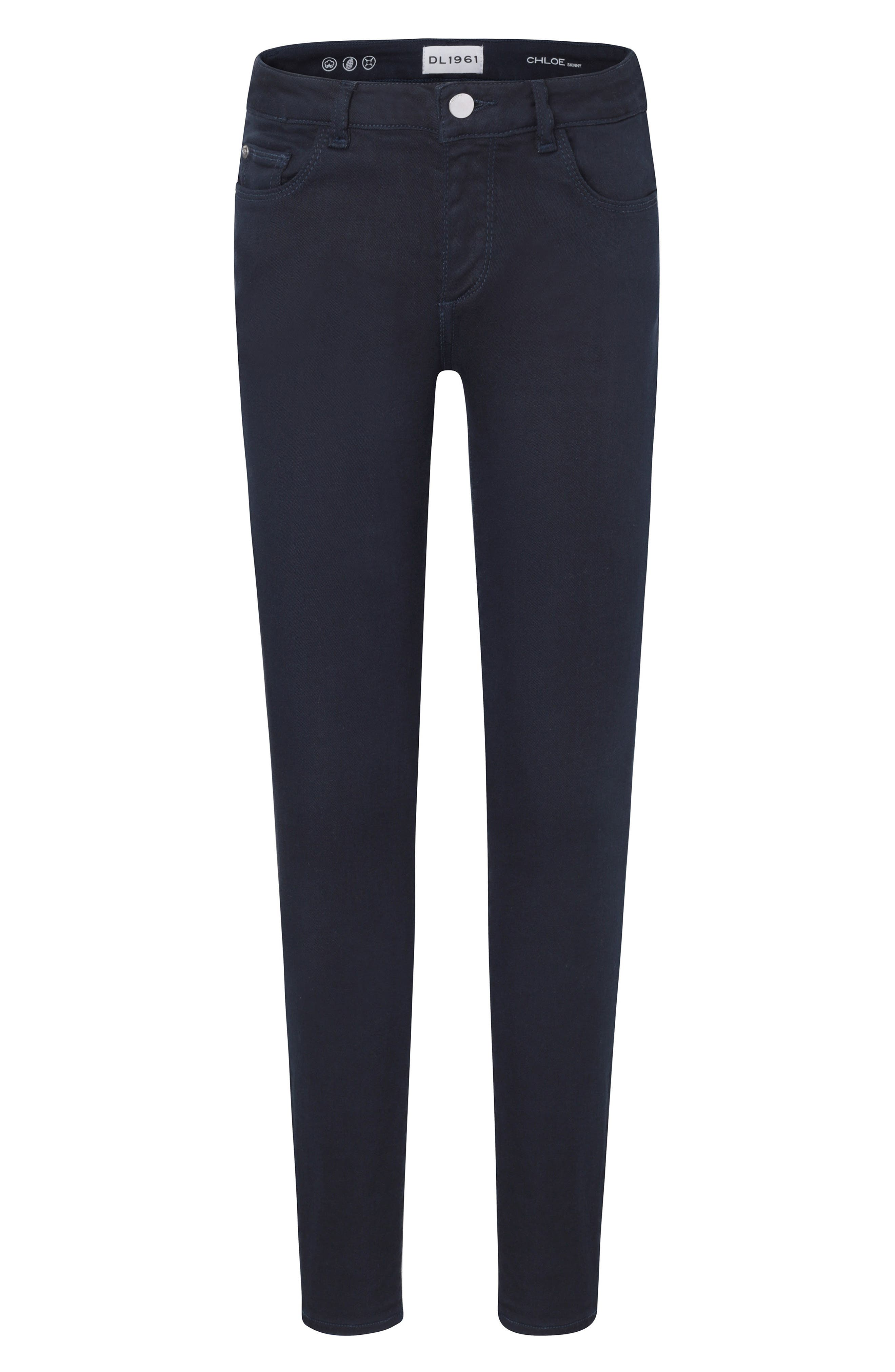 Skinny Jeans,                         Main,                         color, DEEP NAVY