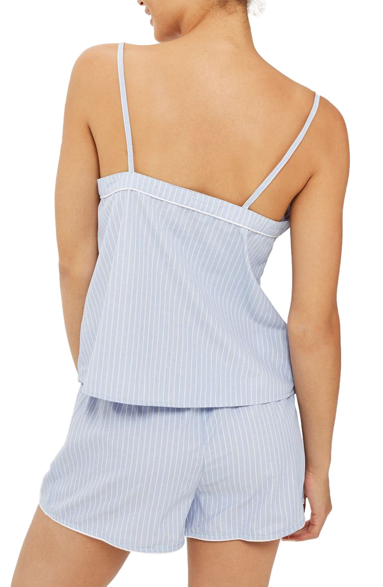 Floral Embroidered Stripe Camisole,                             Alternate thumbnail 2, color,                             400
