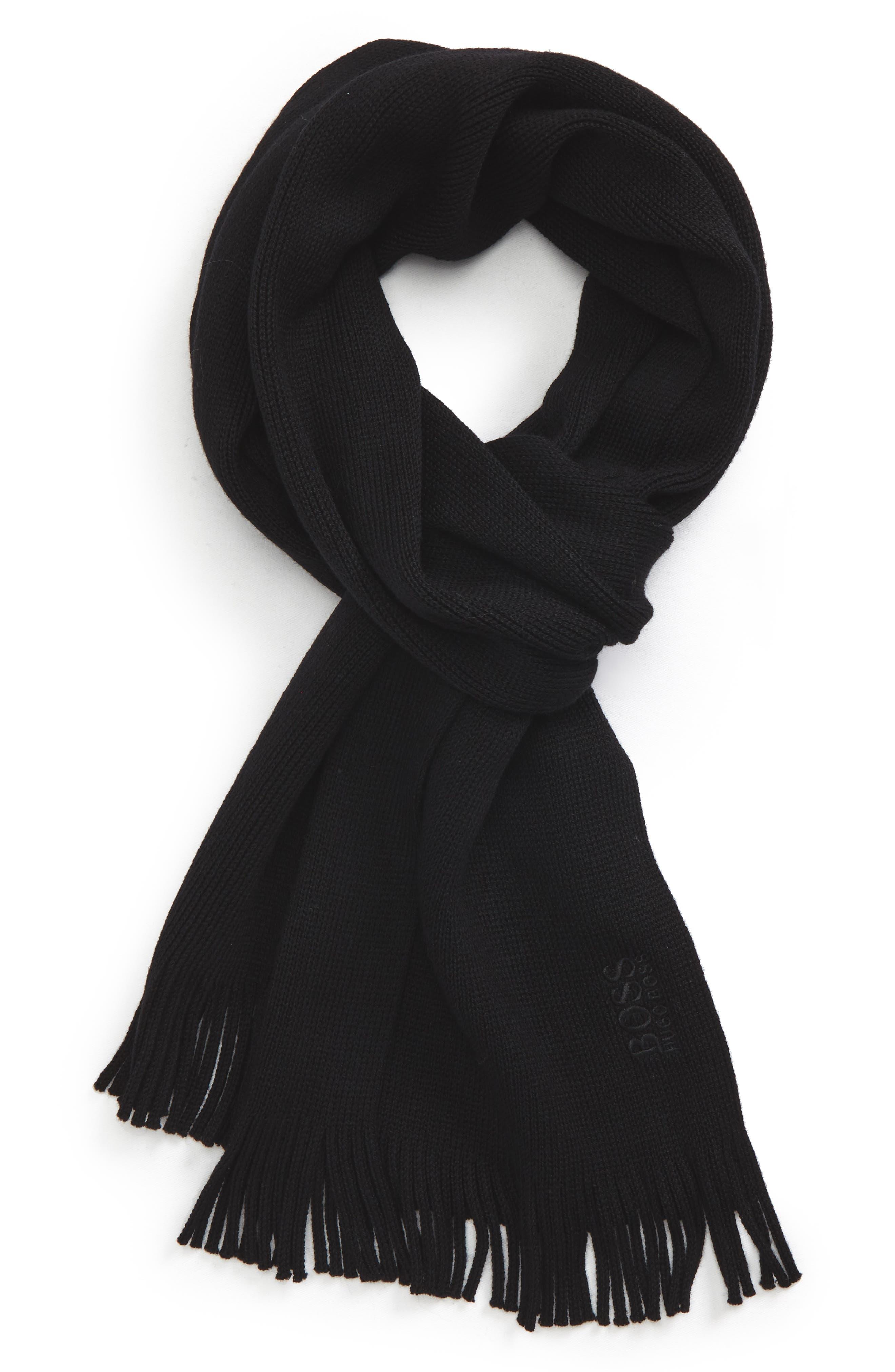 C-Albas Wool Scarf,                         Main,                         color, 001